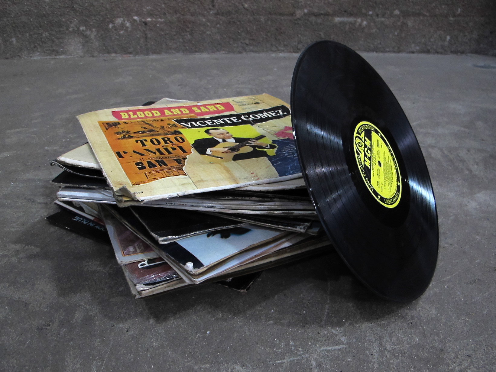 Pile of Records $15