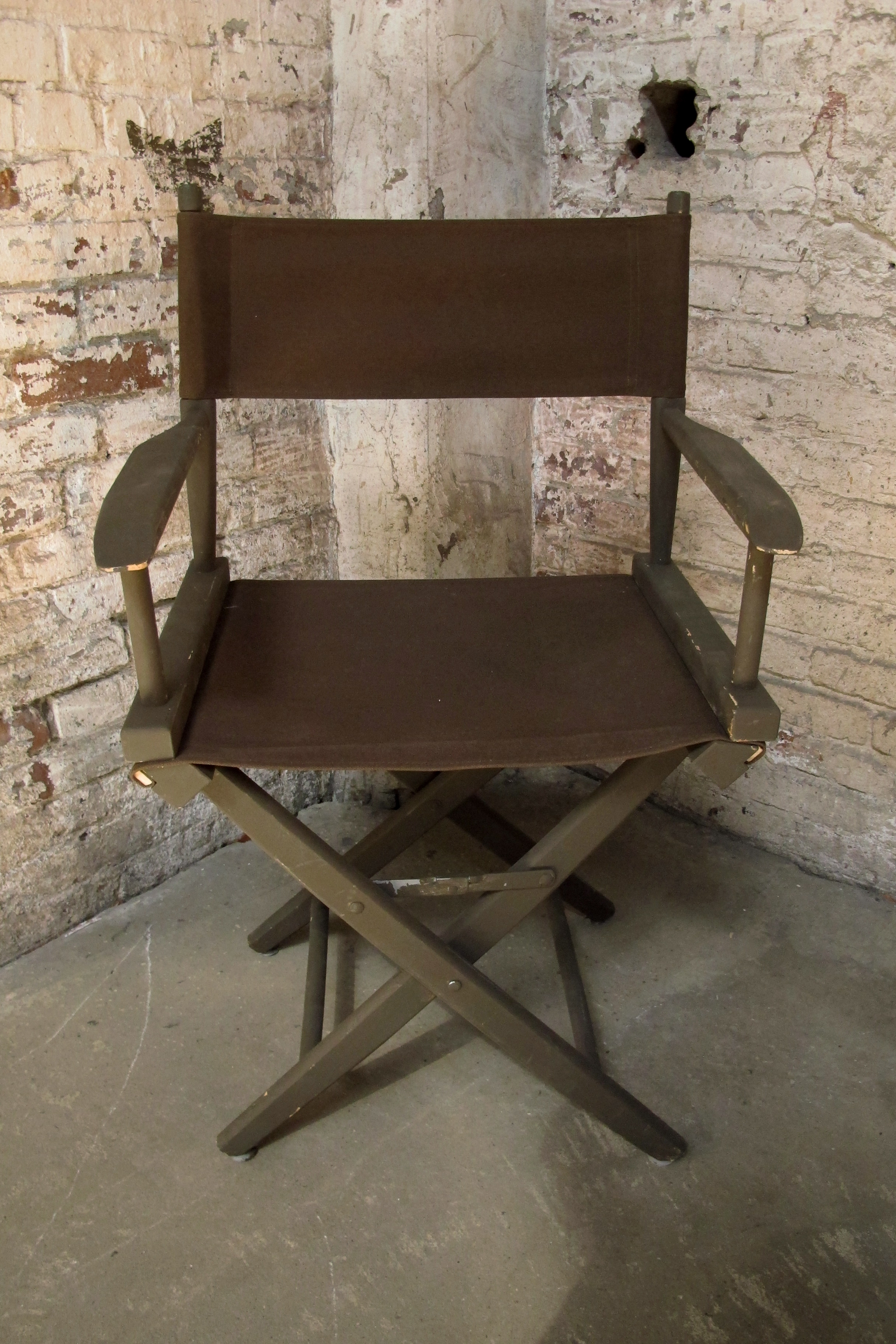 Brown on Brown Director's Chair