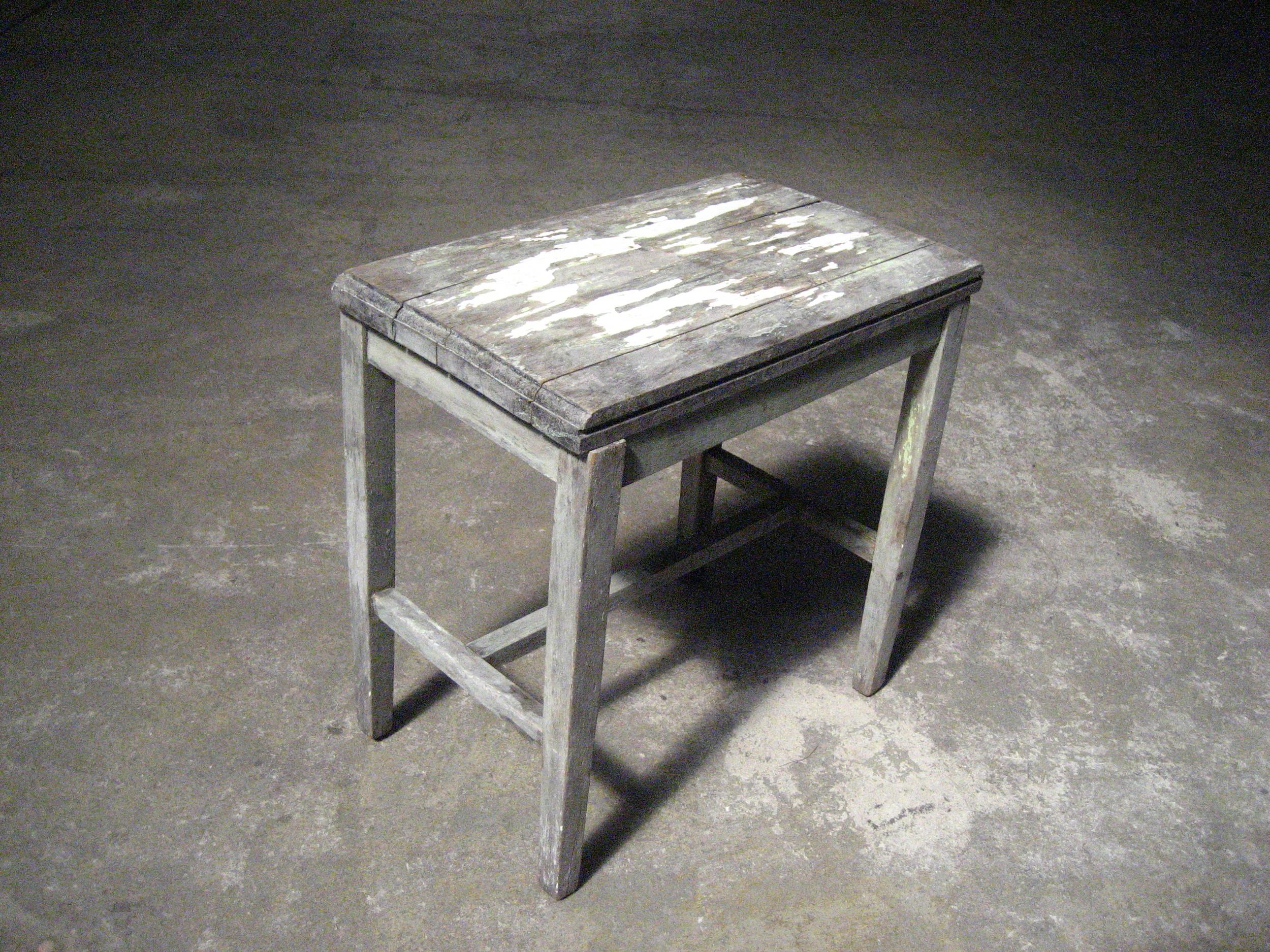 Teeny Grey Side Table $20