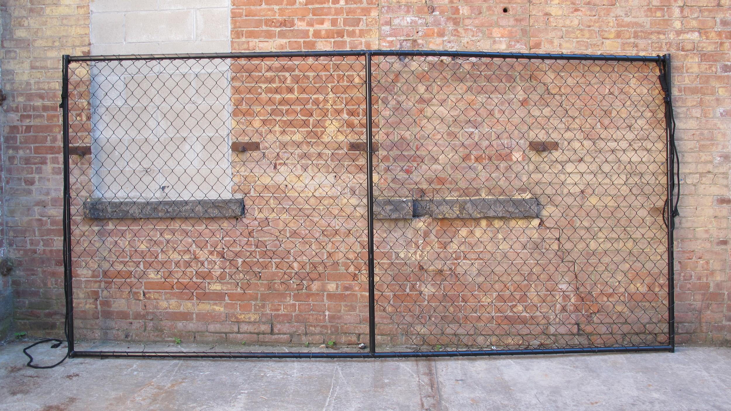 Black Rochambeau Fence $150