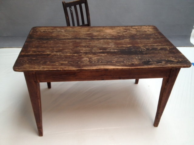 32x52 Distressed Table $200