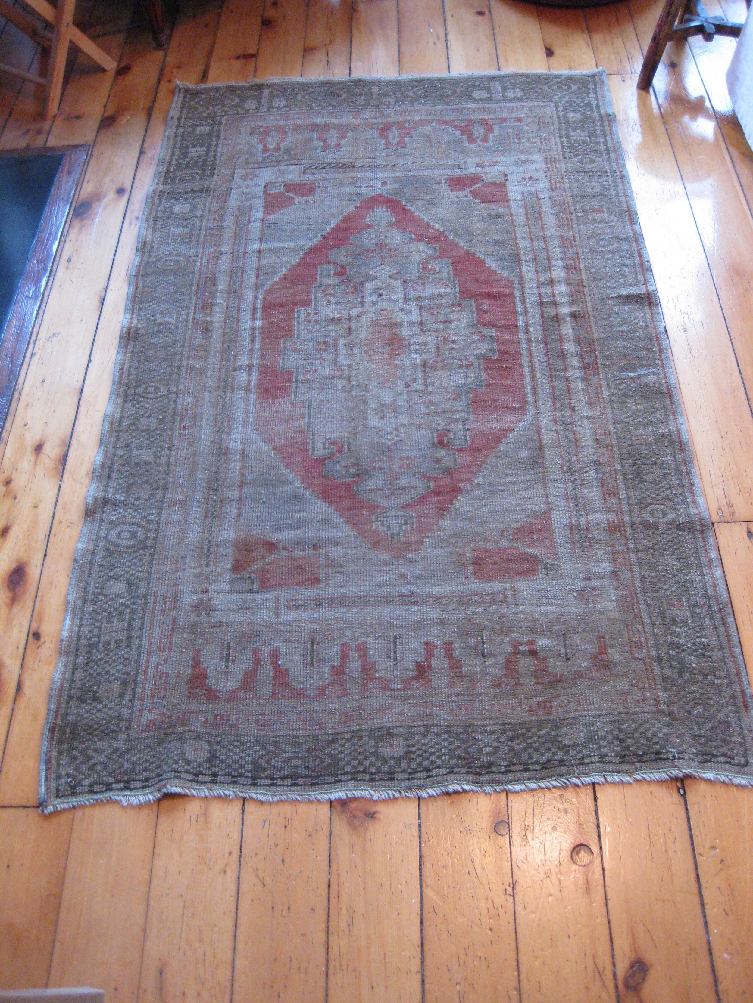 Vintage Area Rug $200