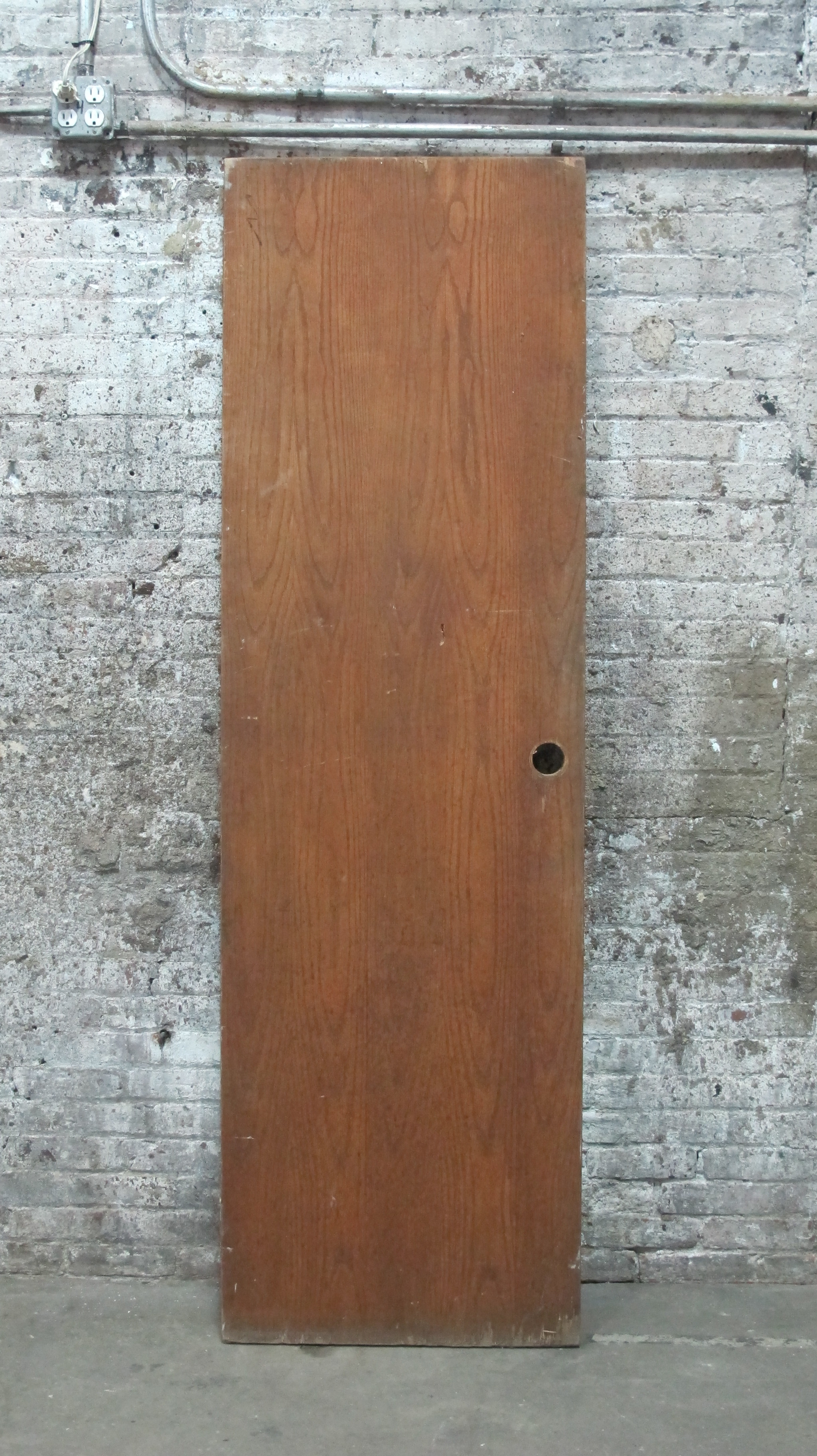 Knobless Wood Door $75