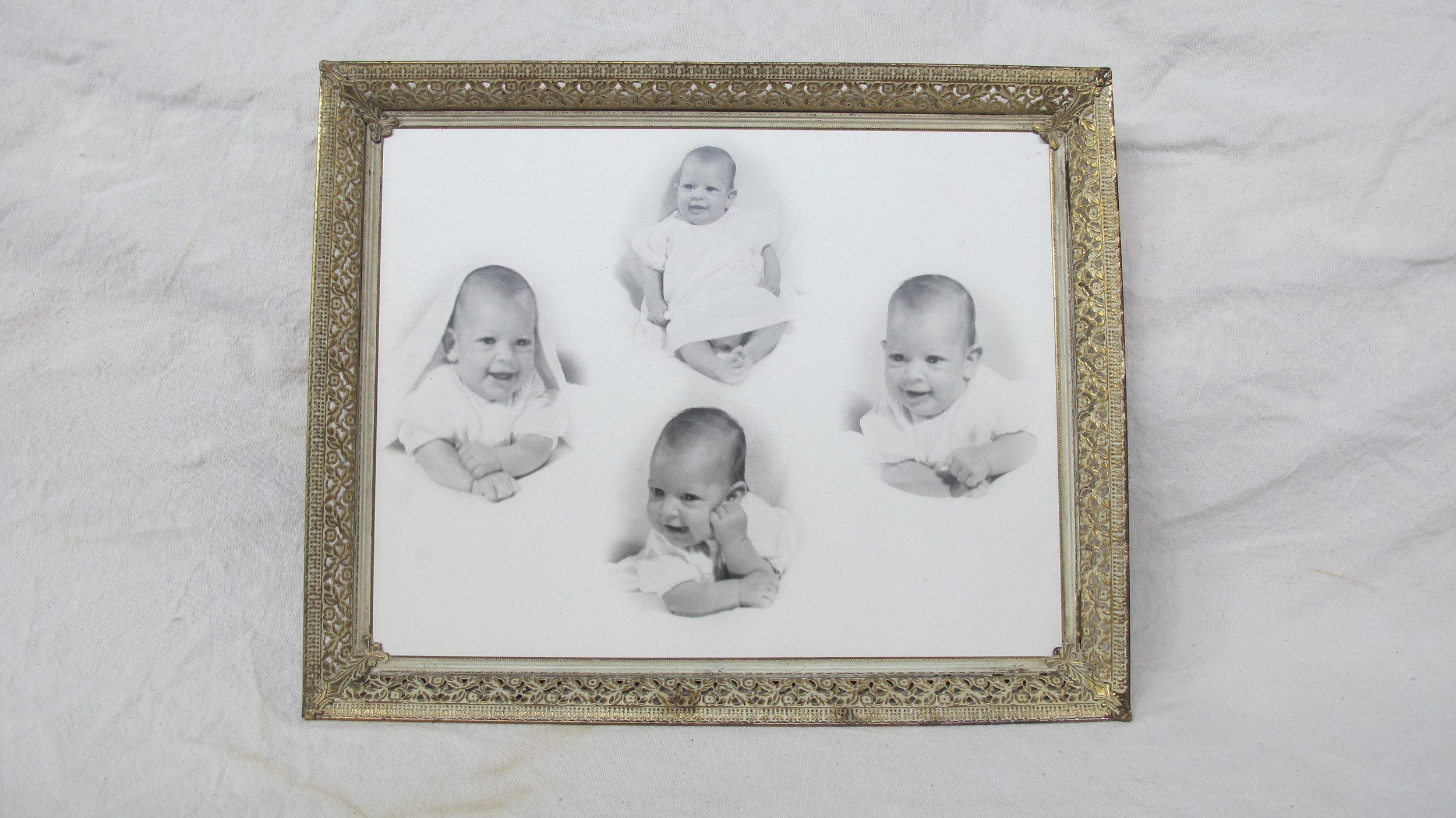 Baby Photos in Frame $60