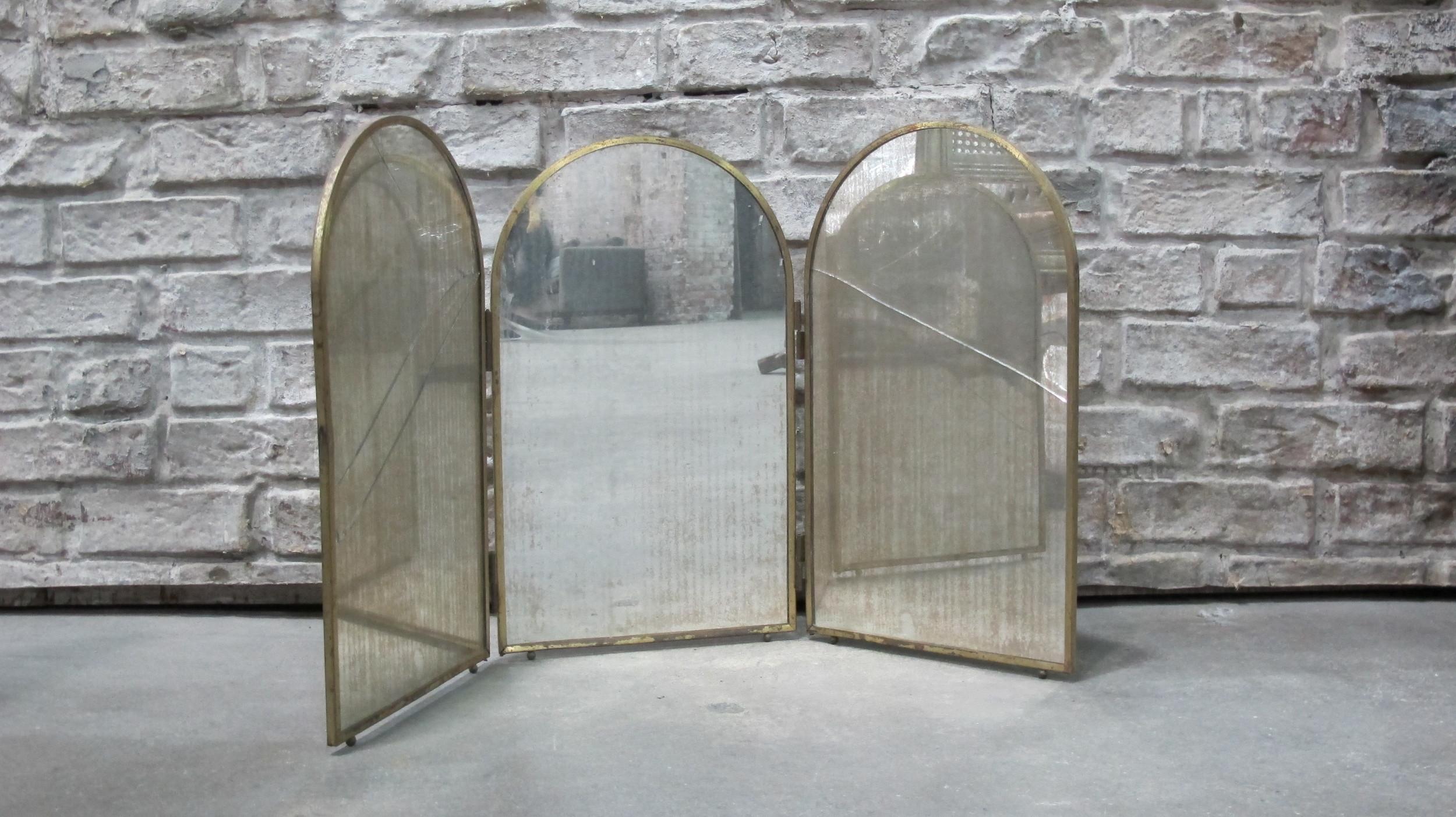 Tri-fold Mirror $45
