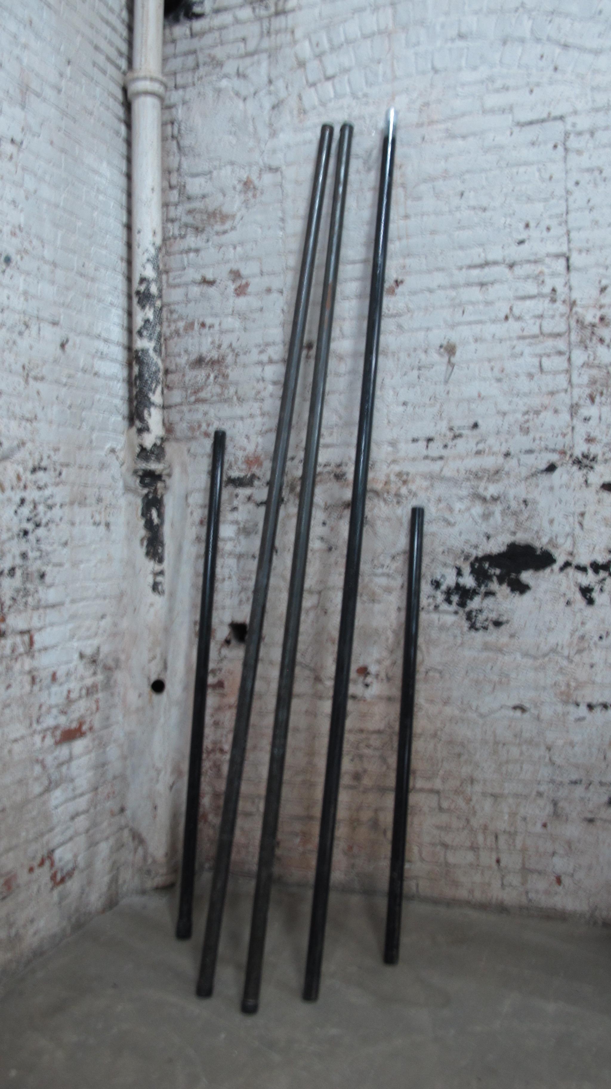 steel pipes $10/ea