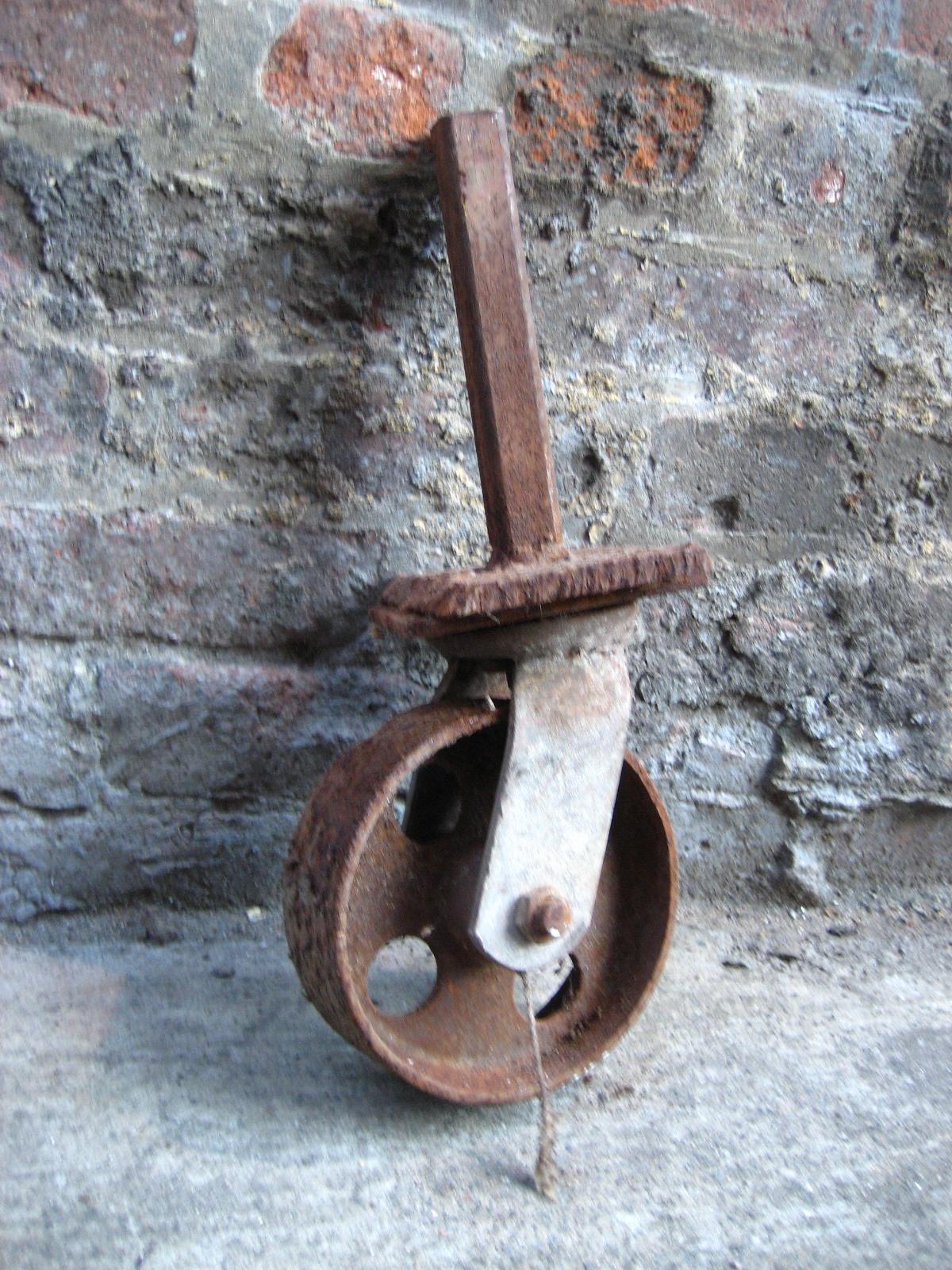 Rusted Wheel $5