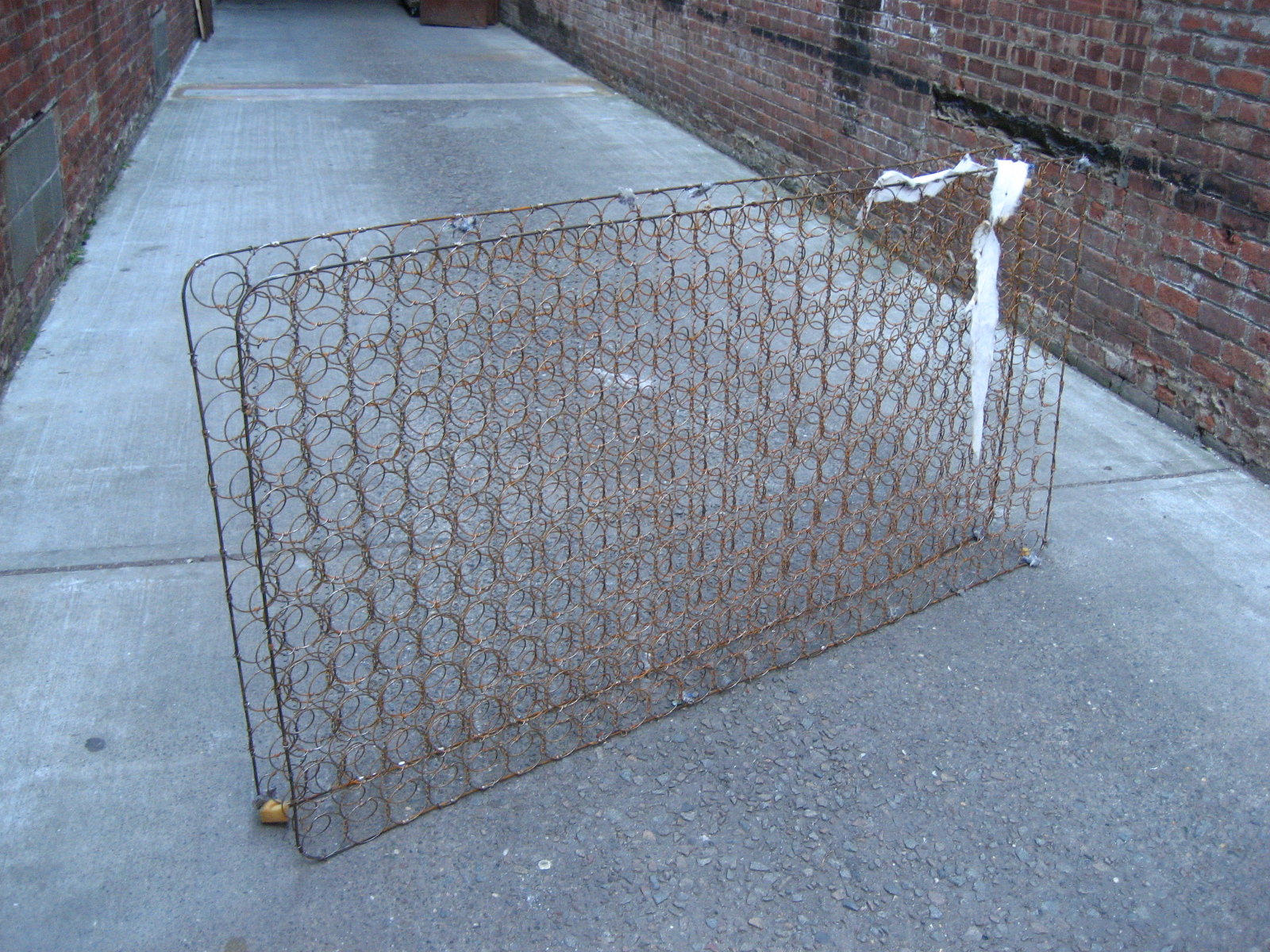 Exposed Mattress Springs $80