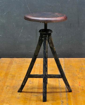 RSS Adjustable height industrial stool $100