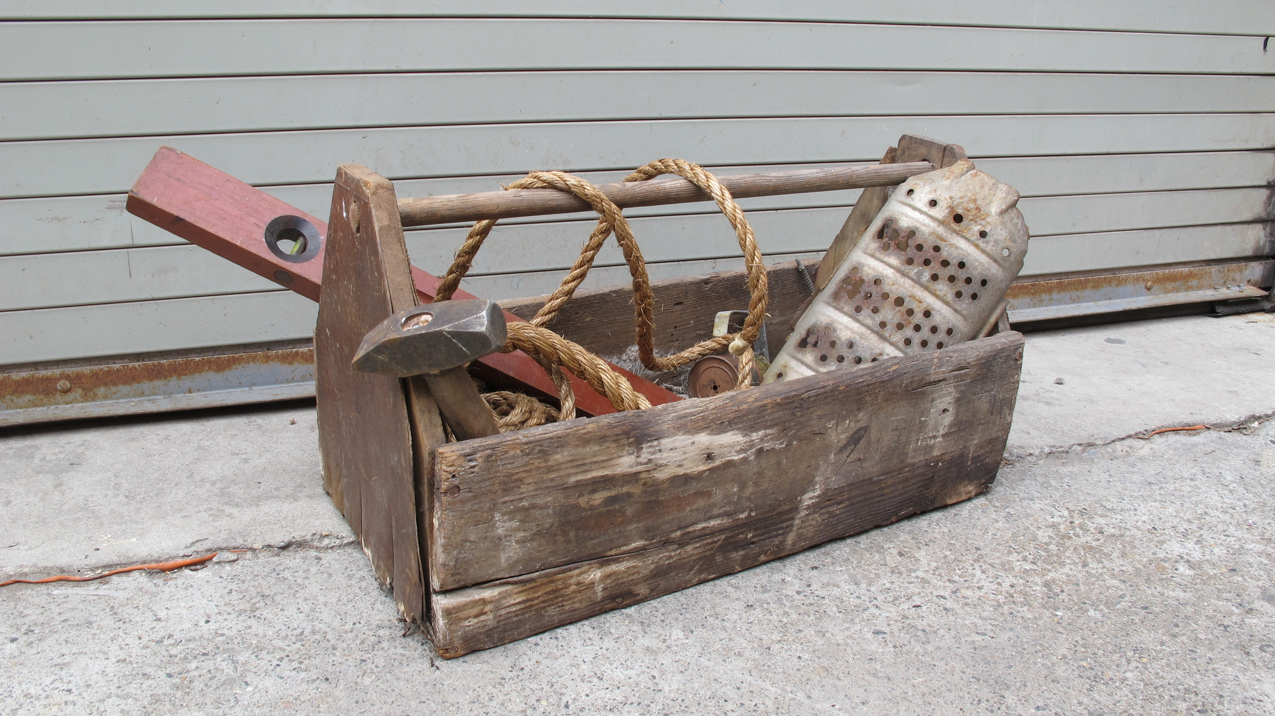 Long Wood Toolbox $65