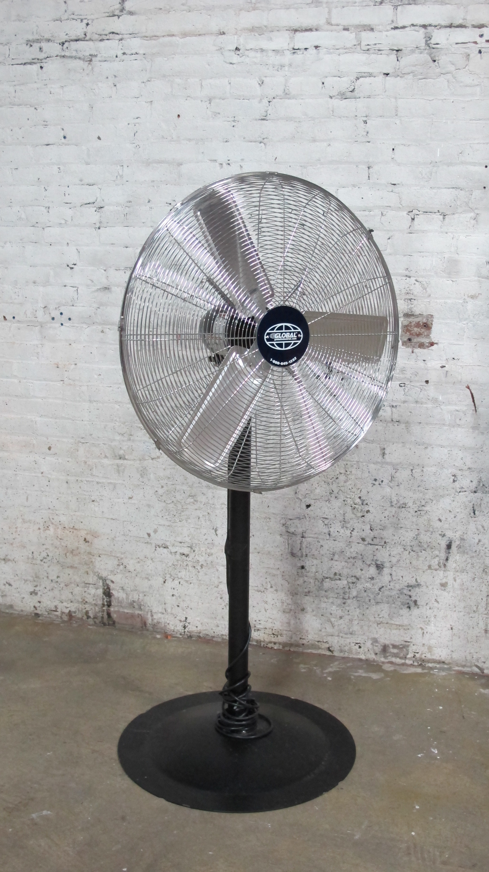 Shiny Standing Fan $100