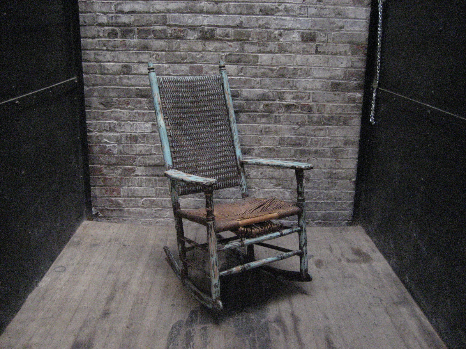 Wicker Rocking Chair $55