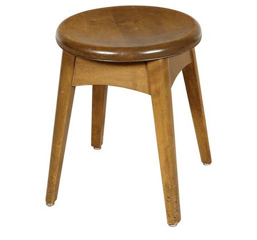 """Gunlocke stool 18"""" $60"""