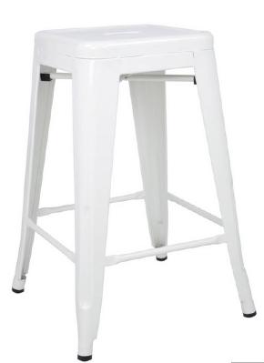 "RSS 24"" white stool $60"
