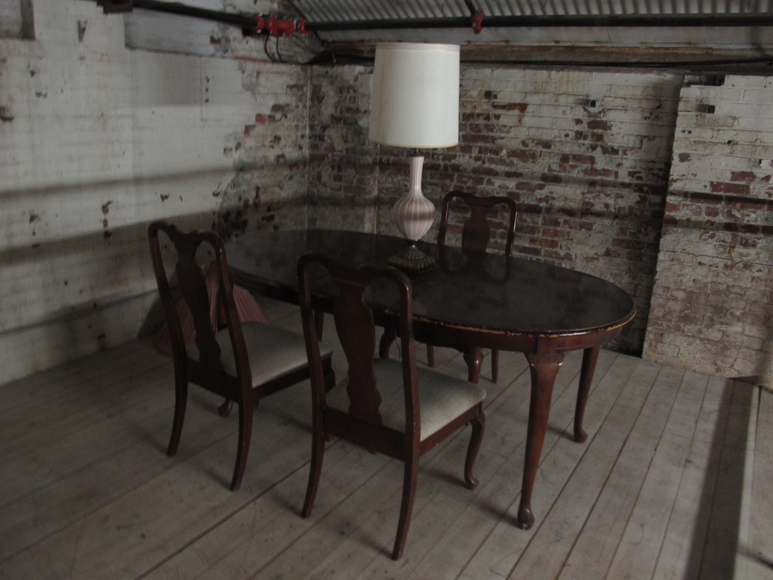 Dining table ($200) dining chairs ($30/ea)