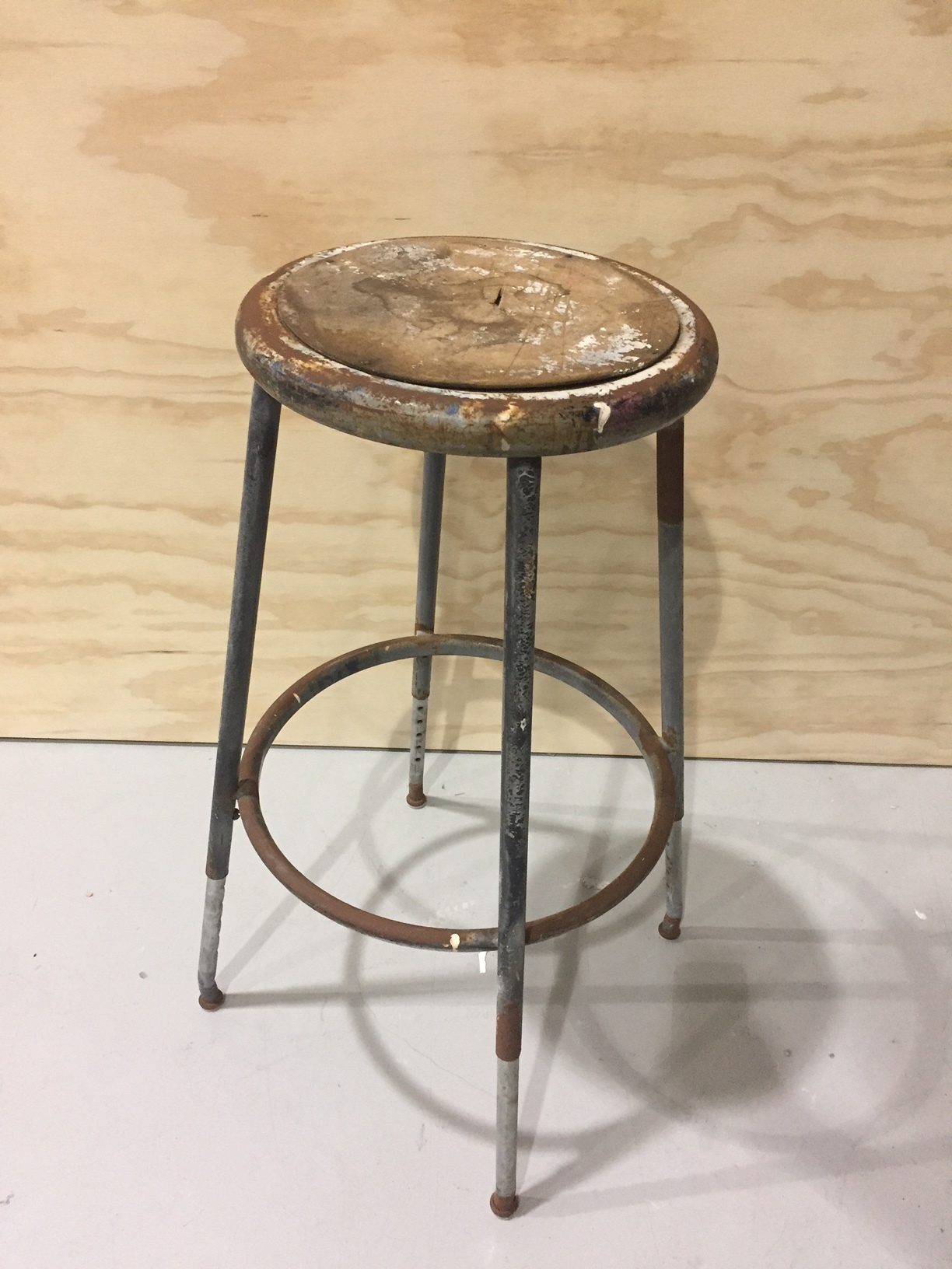 RSS Old Painter'S Stool $50