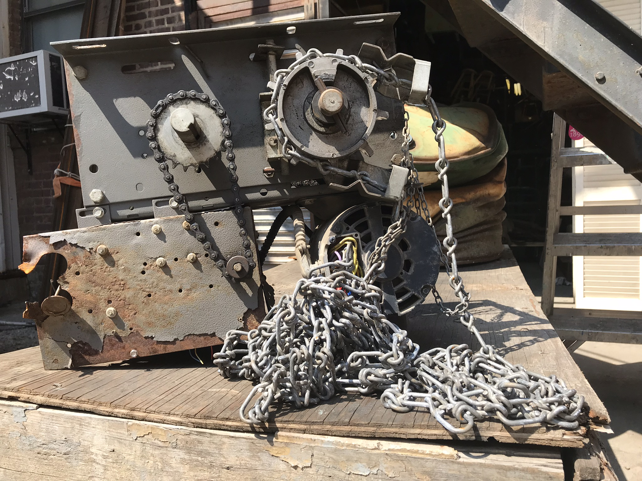 machine part with chain $60