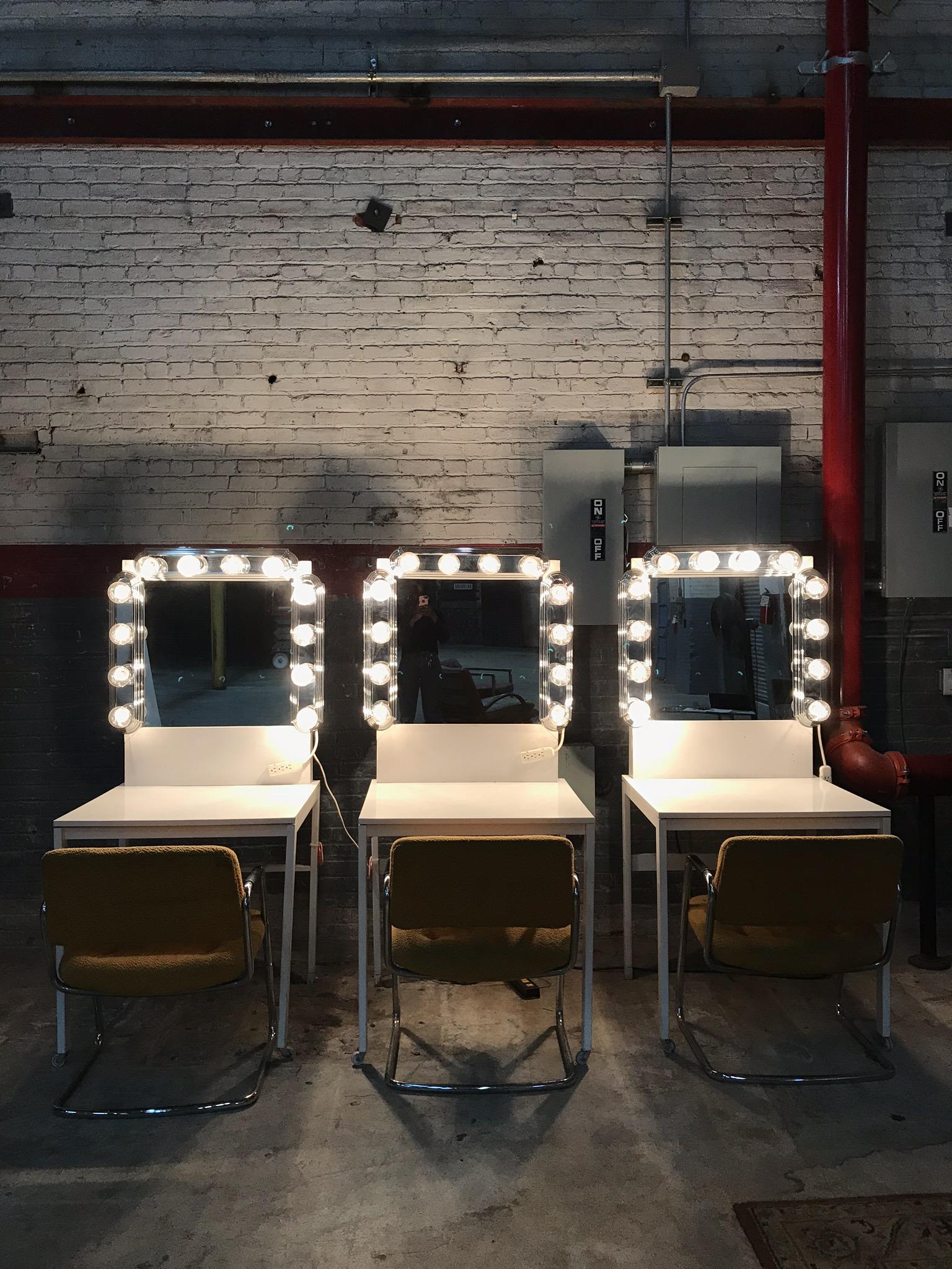 Single White Vanity Tables (3 total) $200/ea