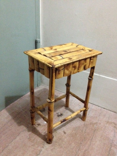 Small Bamboo Side Table $30