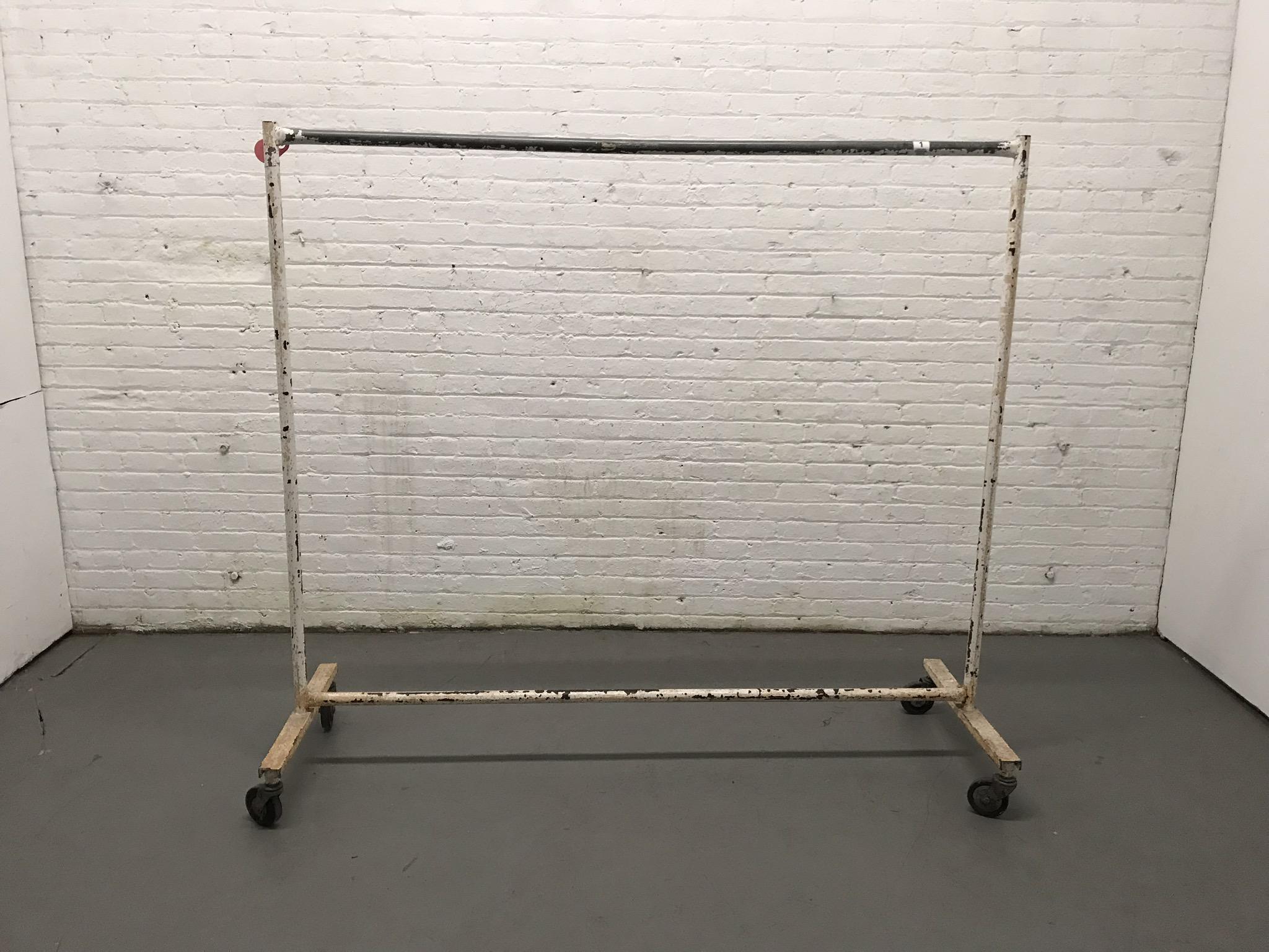Long vintage garment rack $35