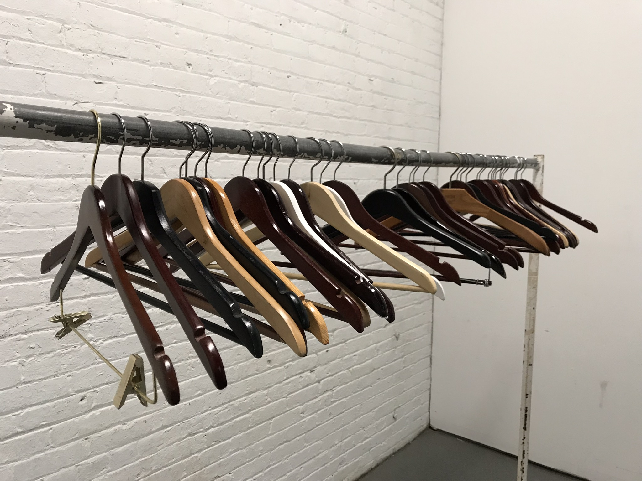 Wooden Hangers $2/ea