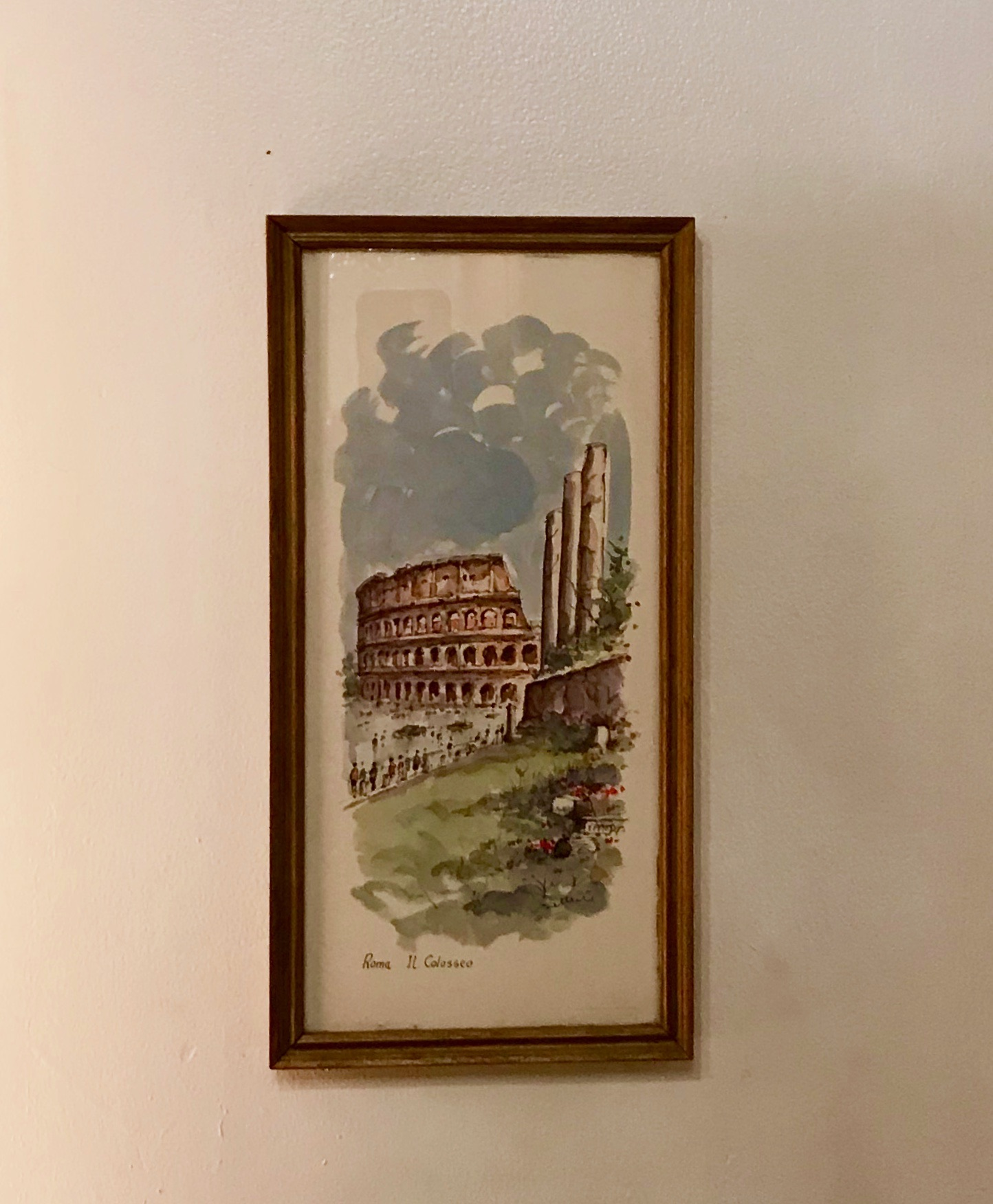 Framed Roma Il Colosseo $60