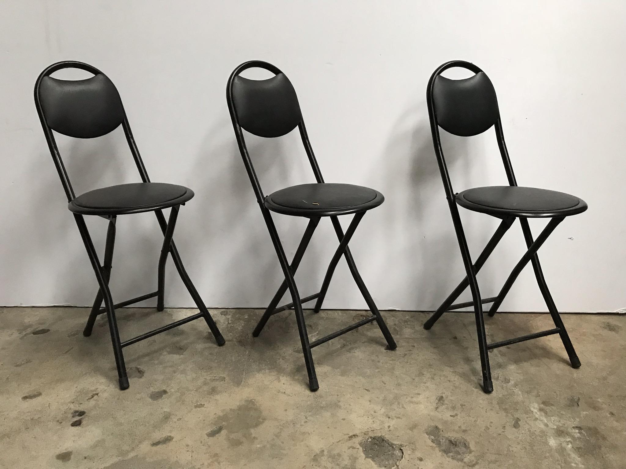 Musician's Folding Chairs (3) $25/ea