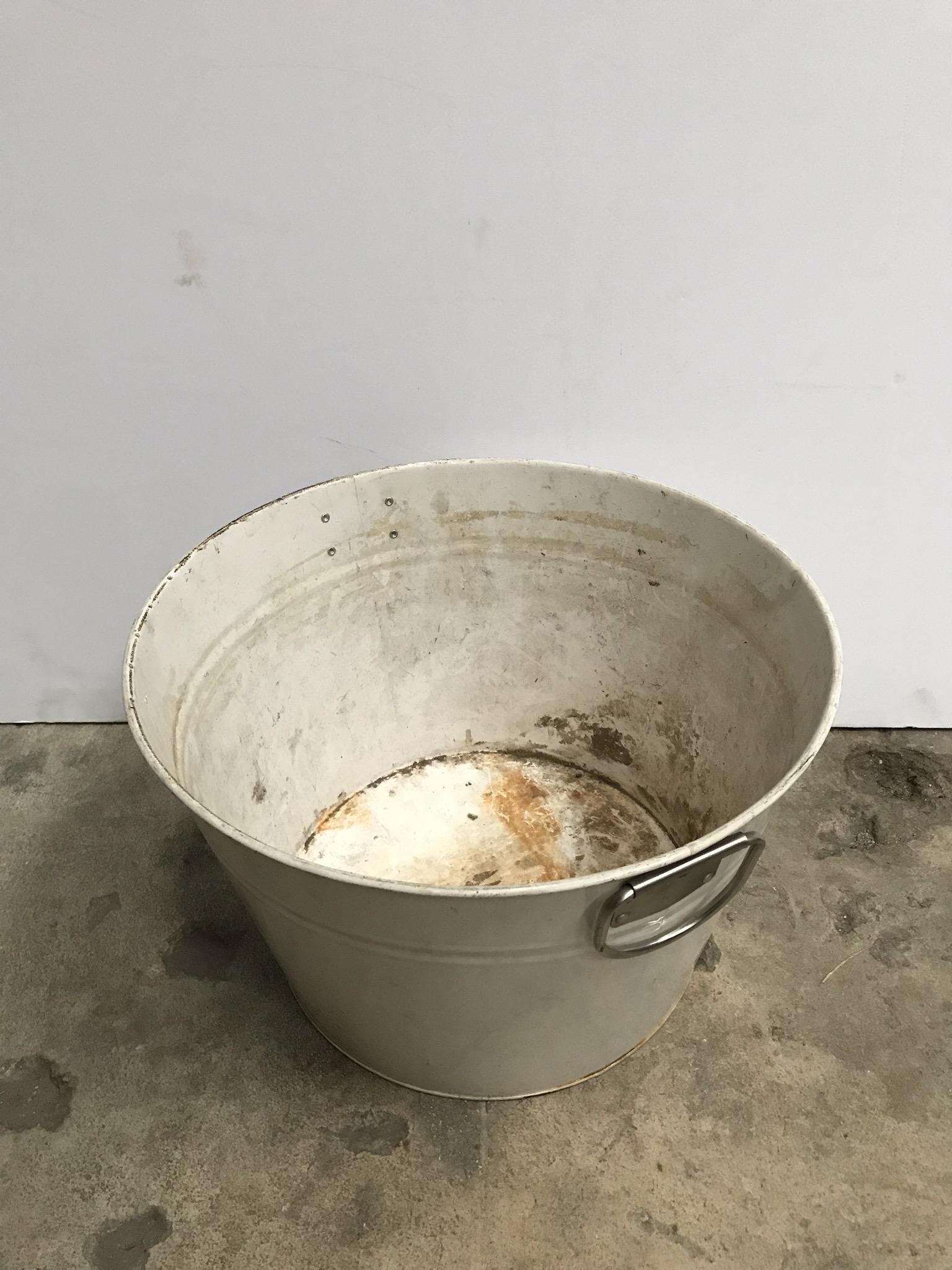 Rusted Garden Bucket $5