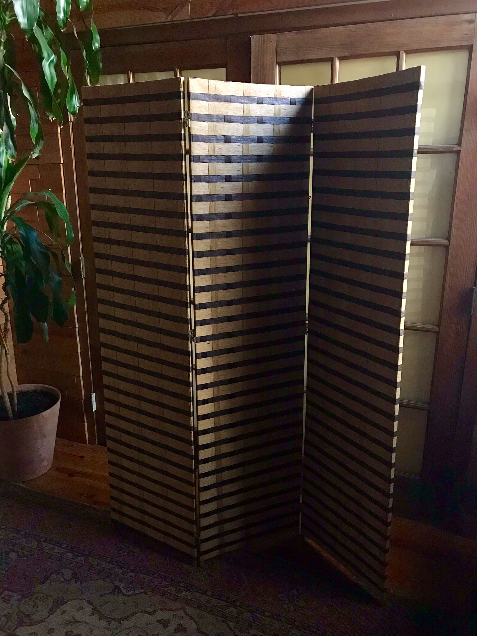 Woven Bamboo screen $75