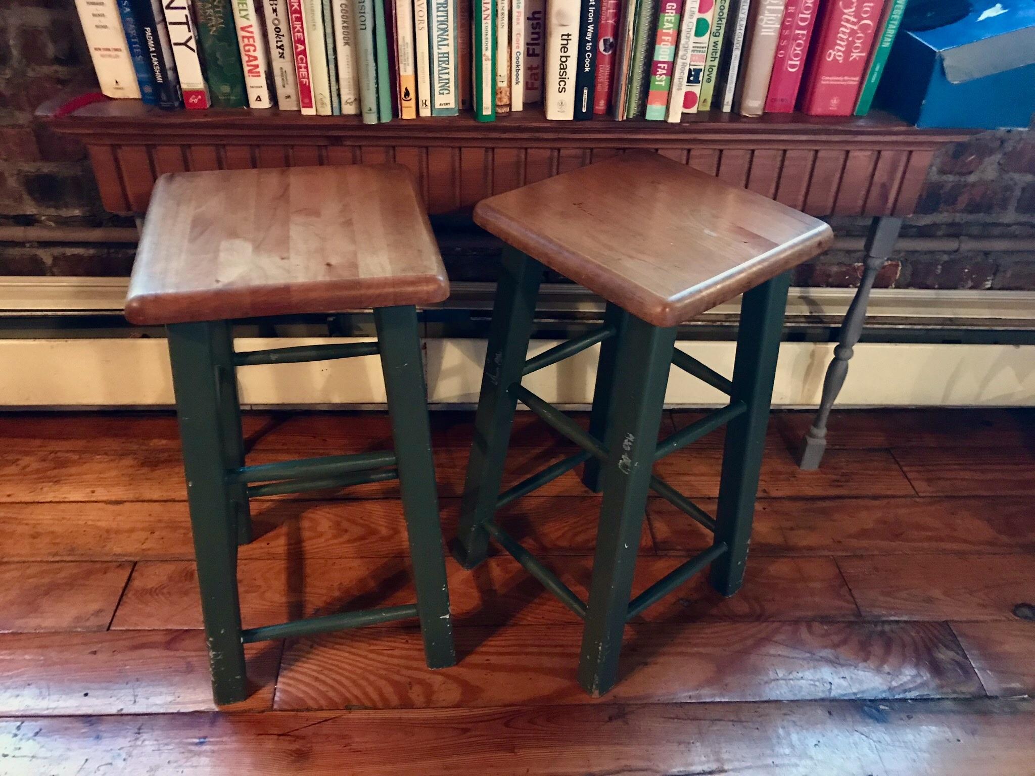 twin Green base stools $30/EA