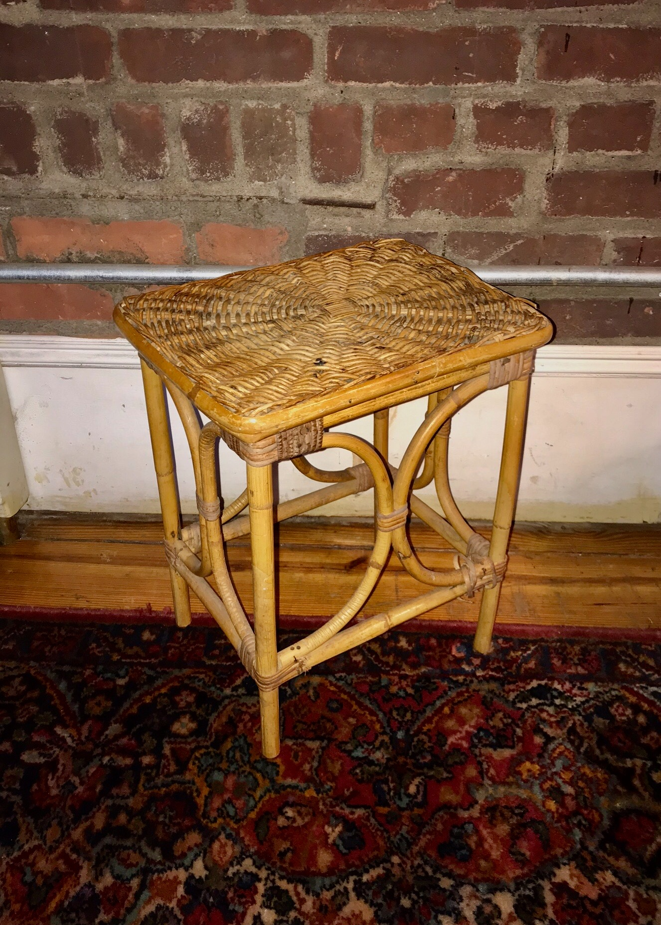 Wicker Side TABLE $30