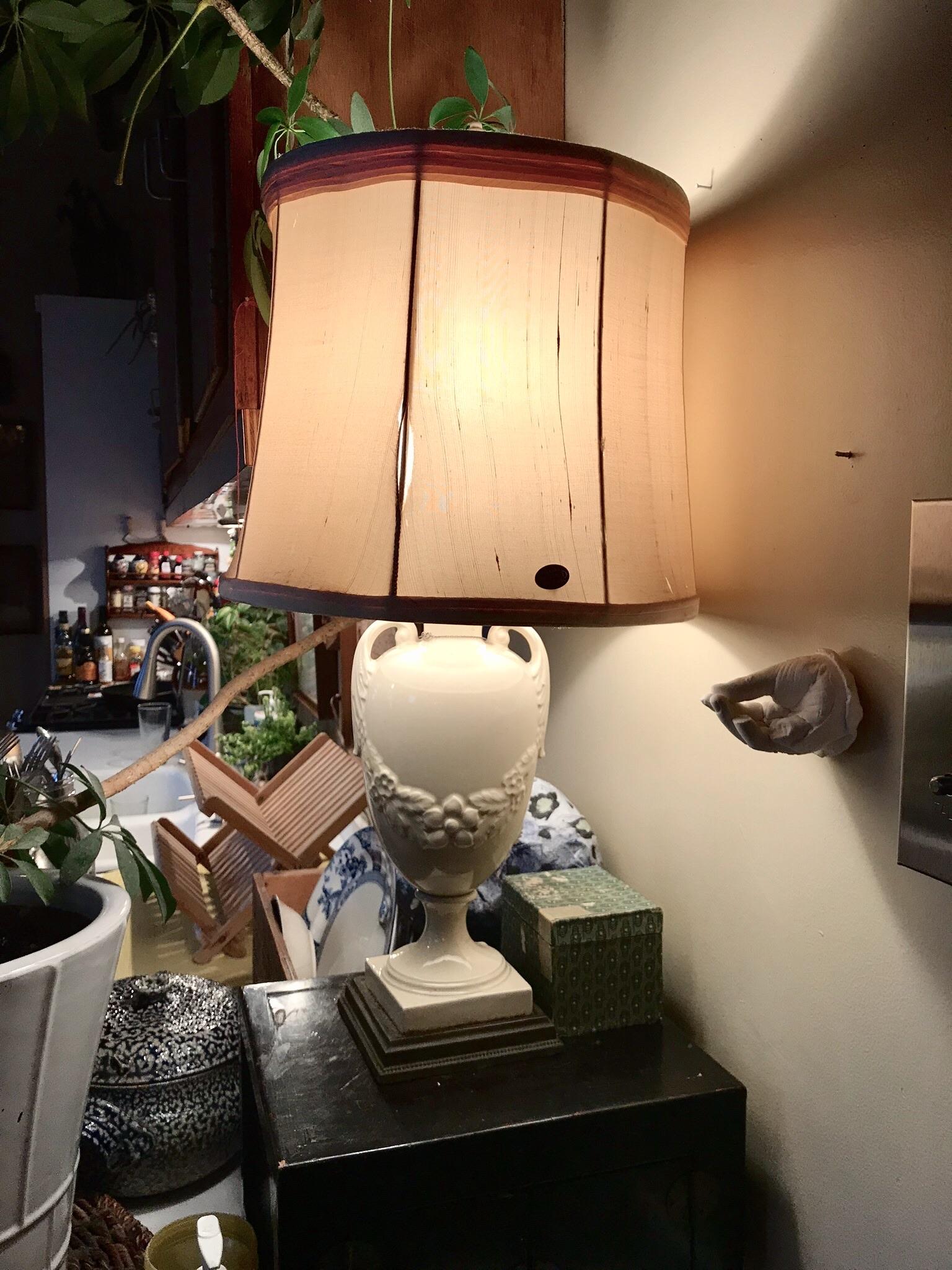 Ceramic vase lamp $50