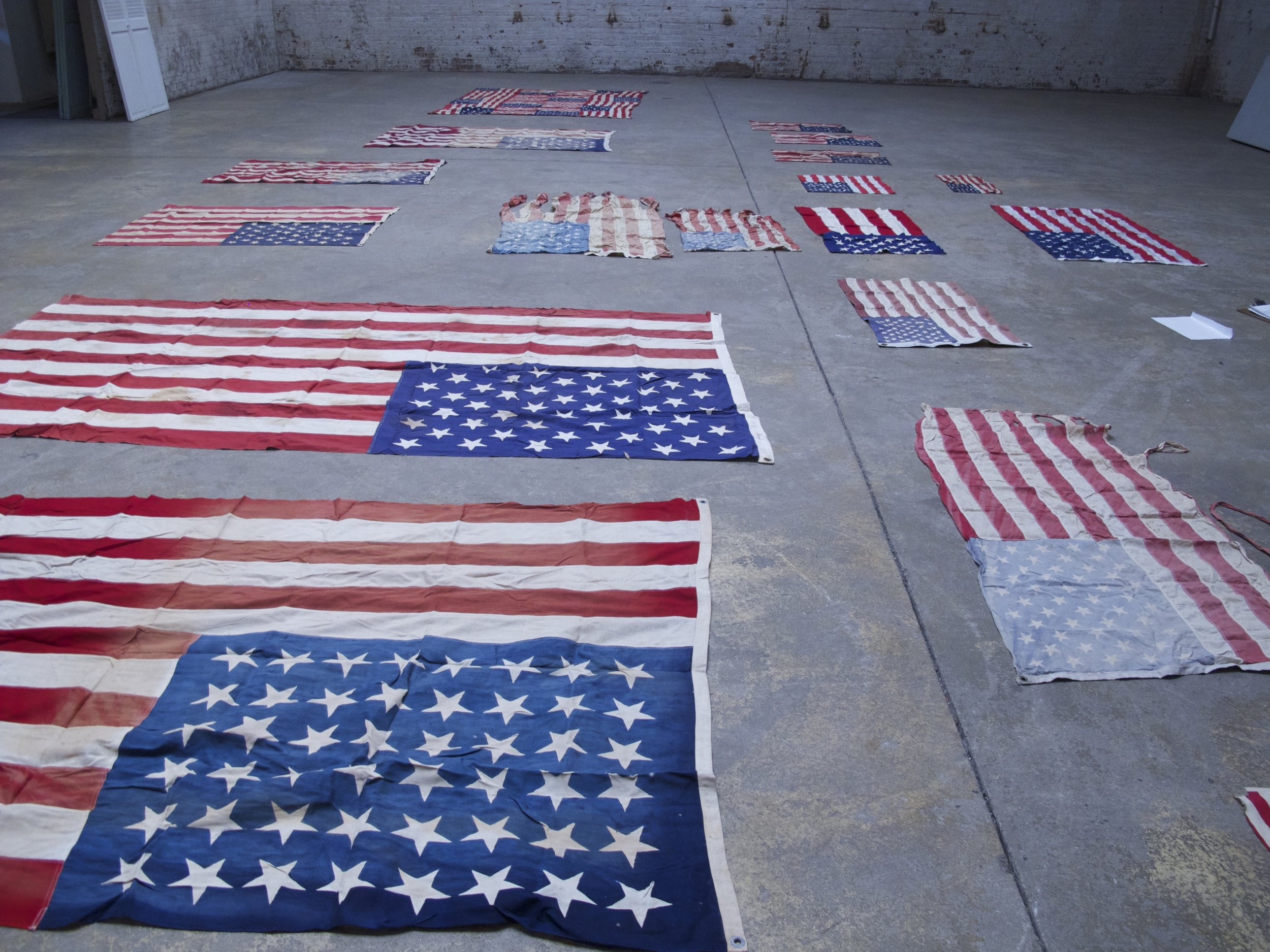 Assorted American Flags $40