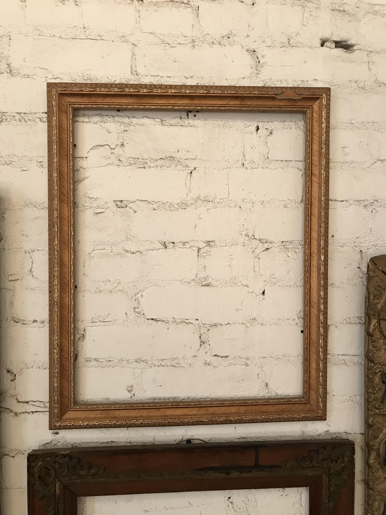THIN Gold Frame $35