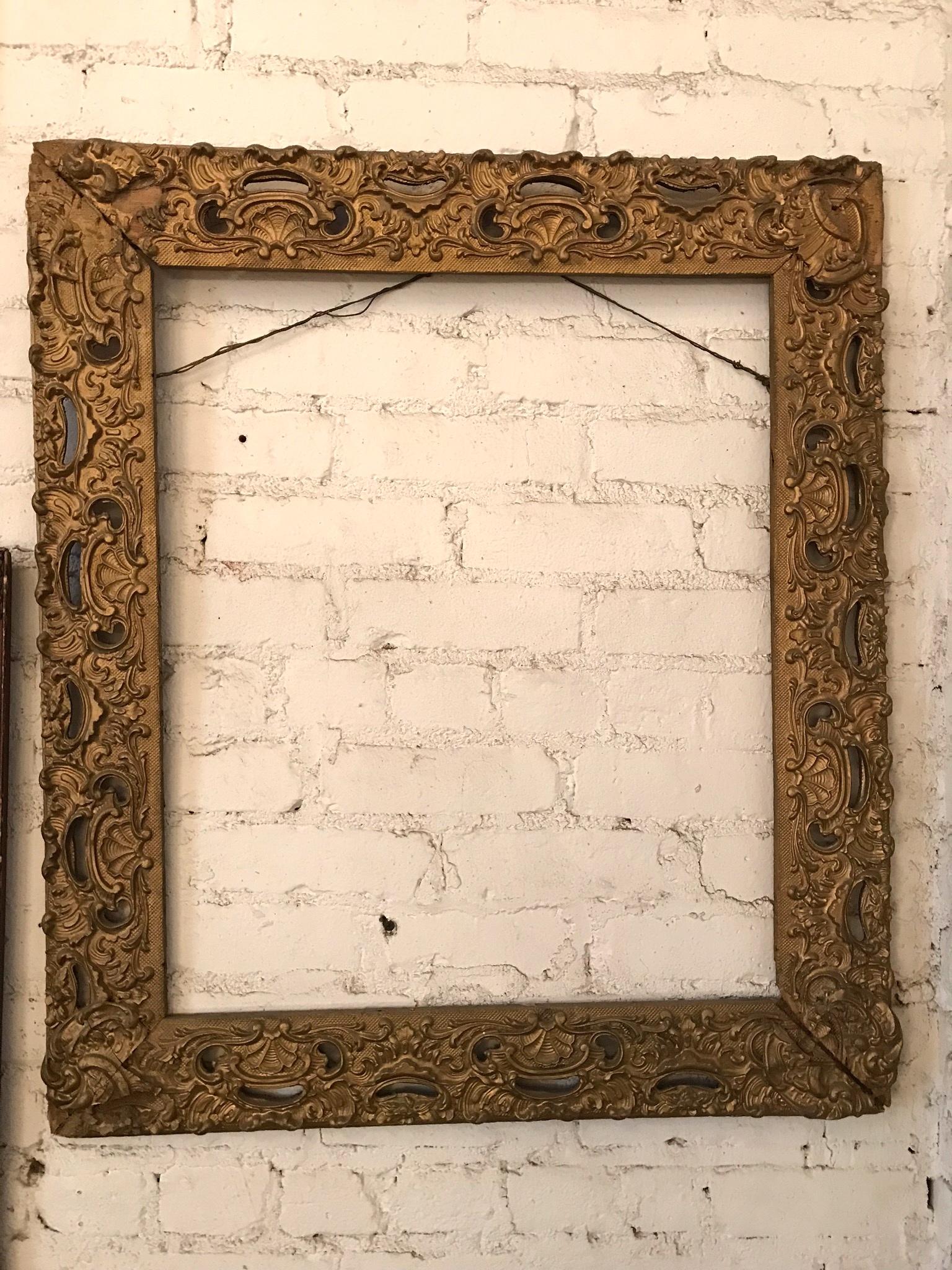 Ornate Gilded Frame $45