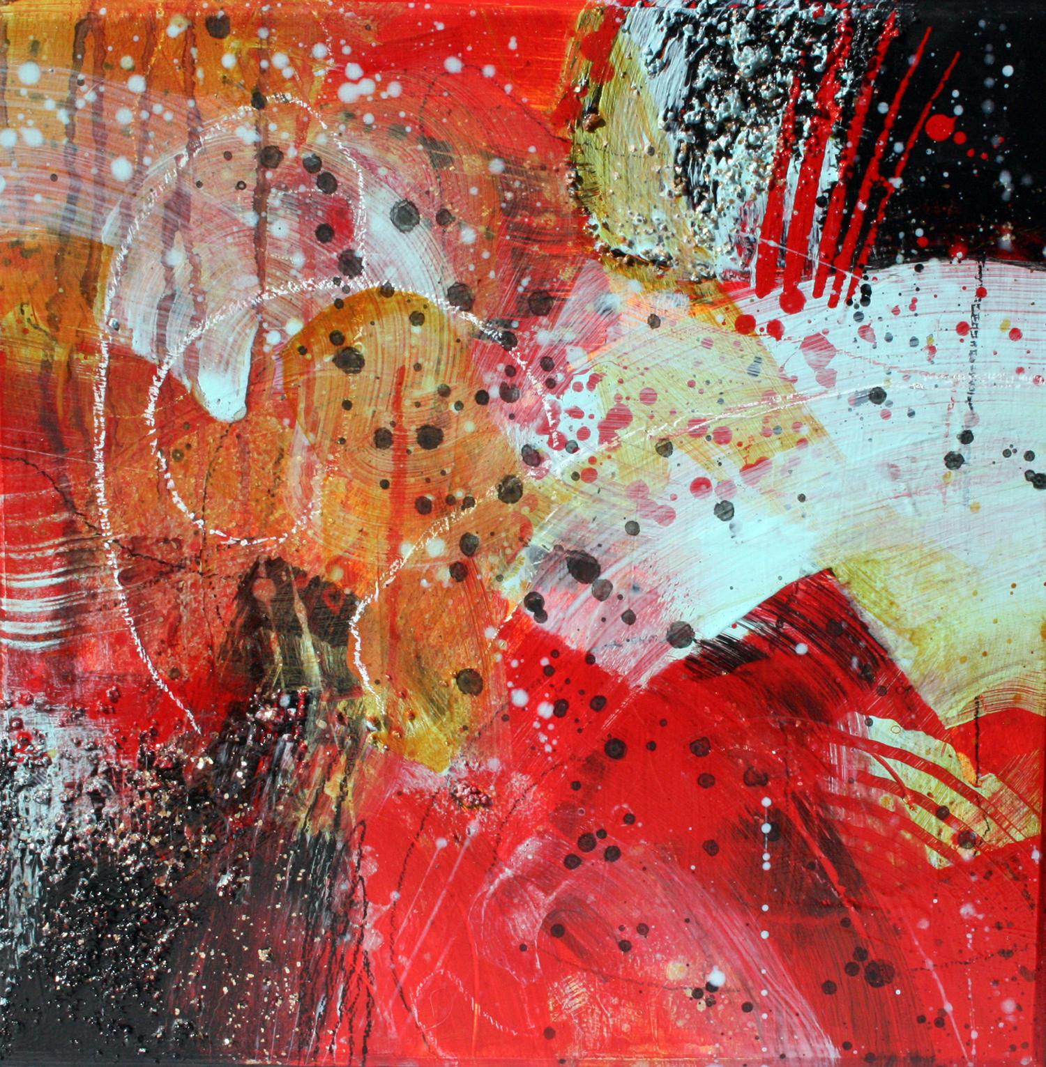Bapazoops, 12x12, acrylic on panel