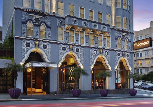 Hotel Adagio, 550 Geary St, San Francisco, CA 94102