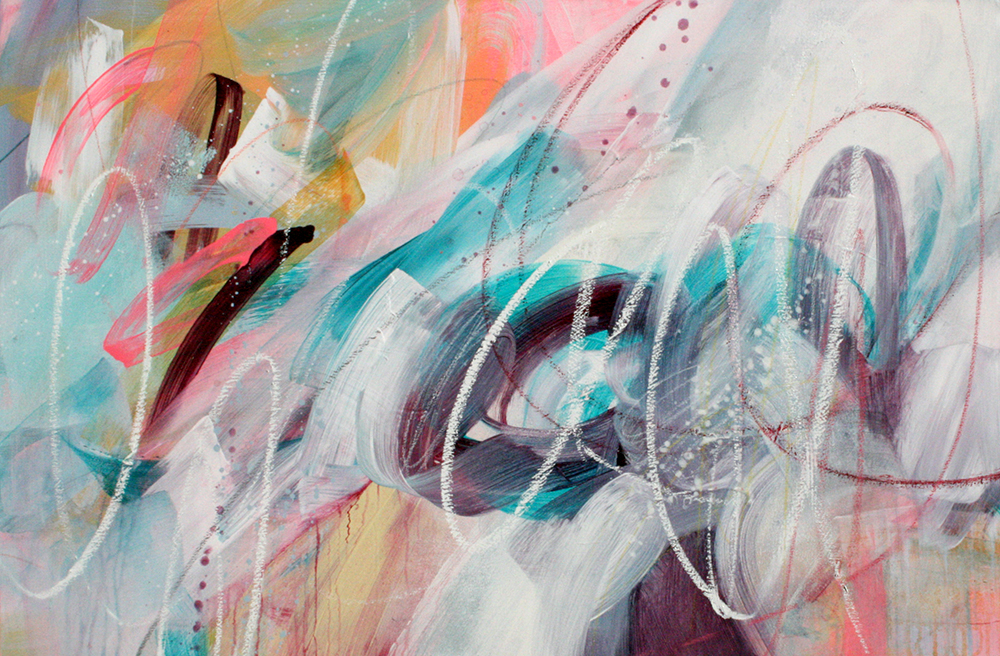 Igzeedoodle, 24x36, acrylic on canvas