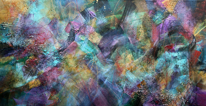 Zimstramalee, 30x58, acrylic on canvas