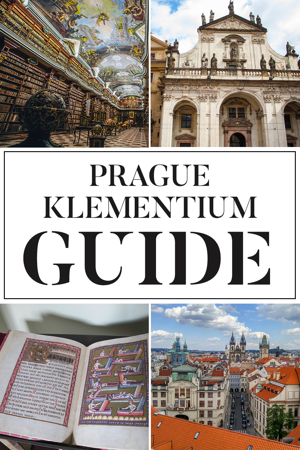 A Guide to the Prague Klementium
