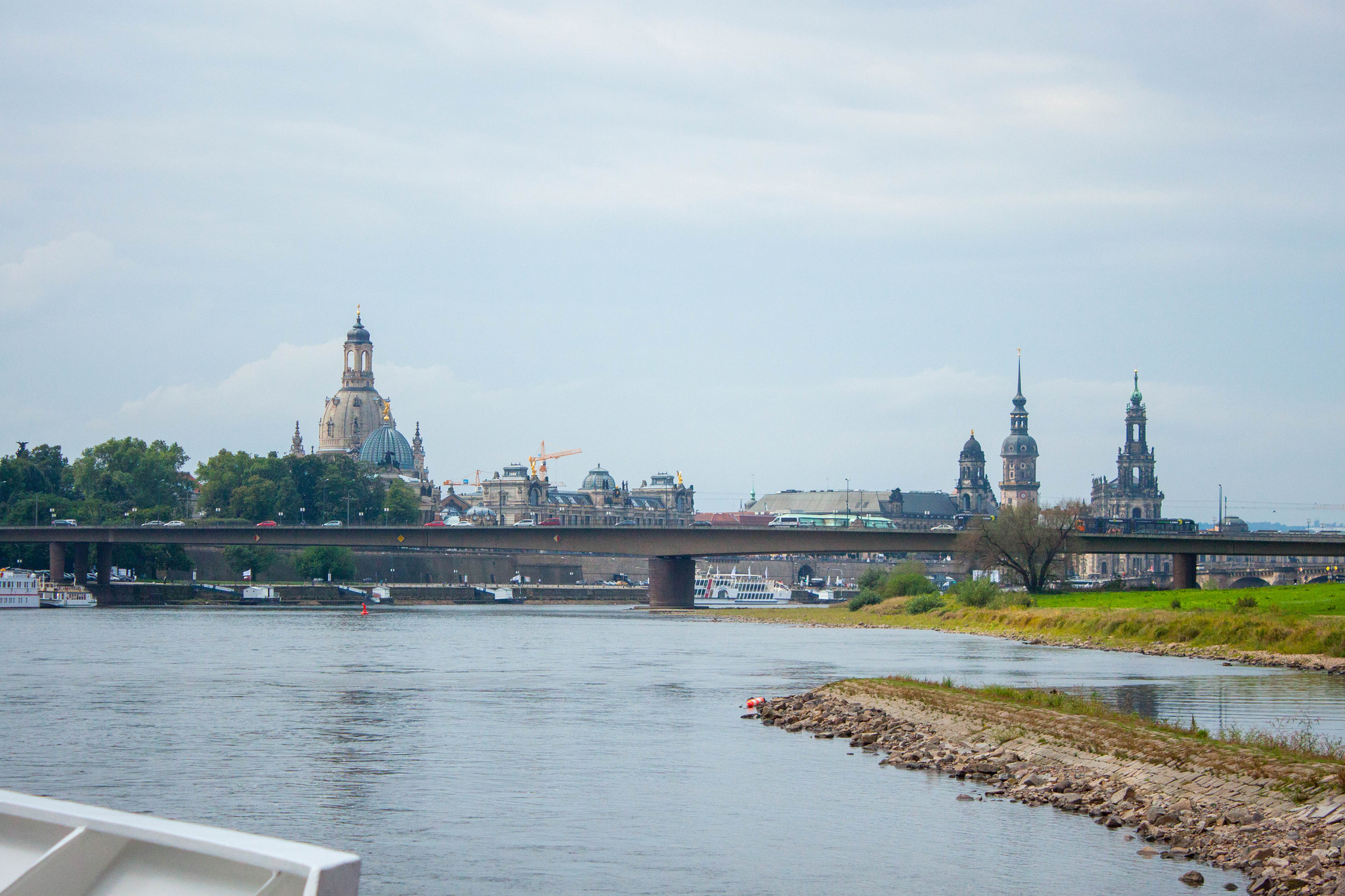 Exploring Dresden by Boat Cruise