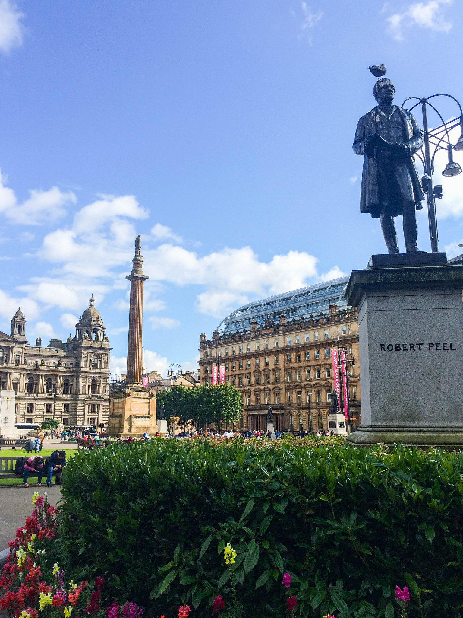 Exploring Glasgow's Buchanan Street