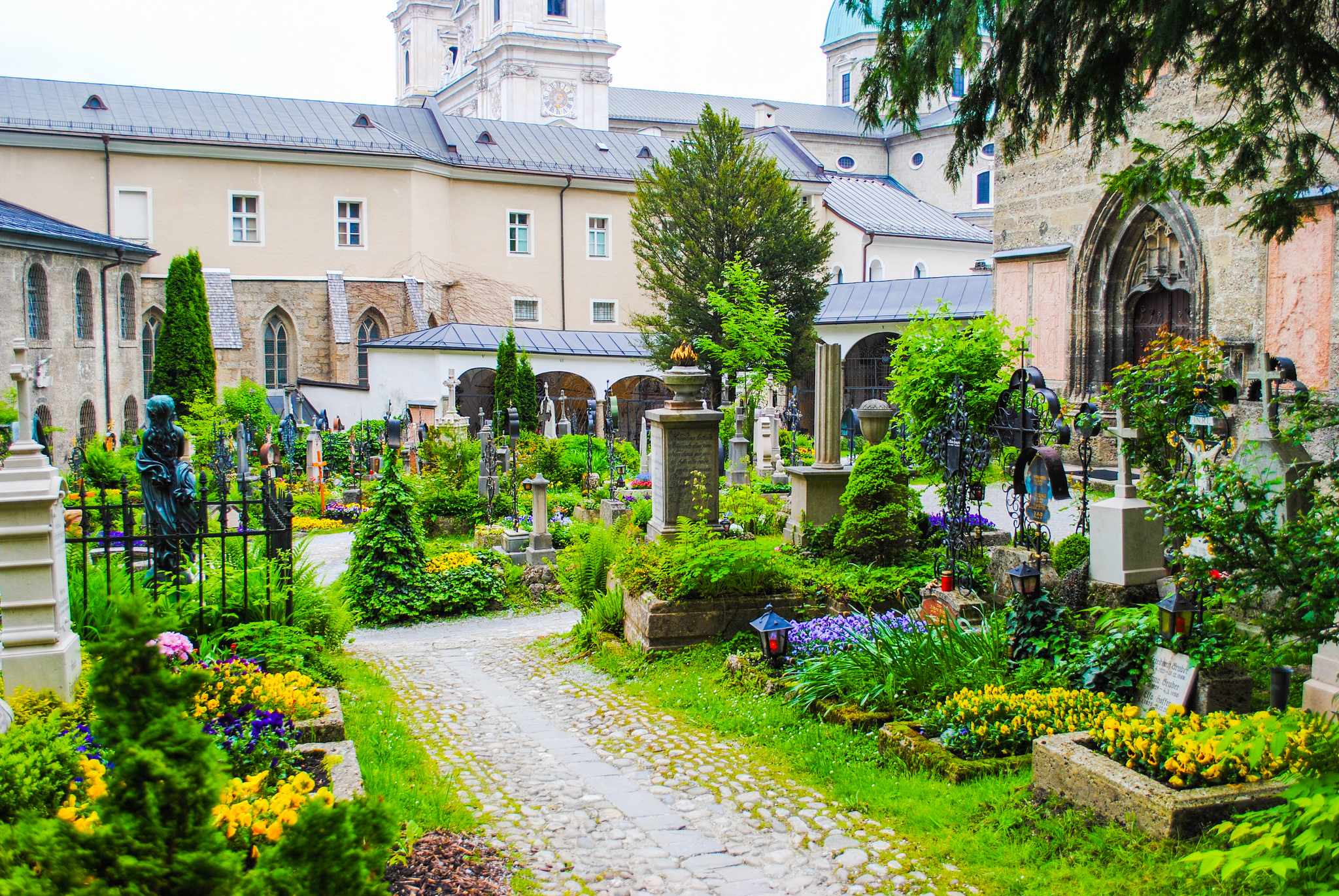 St. Peter's Abbey and Cemetery Salzburg