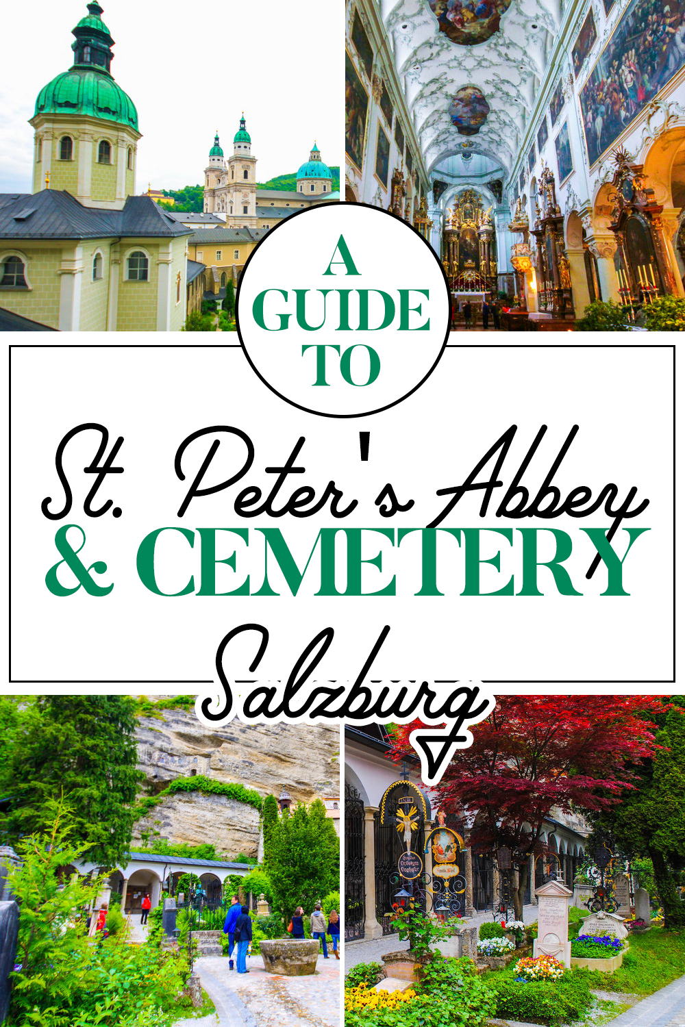 A Guide to St. Peter's Abbey and Cemetery