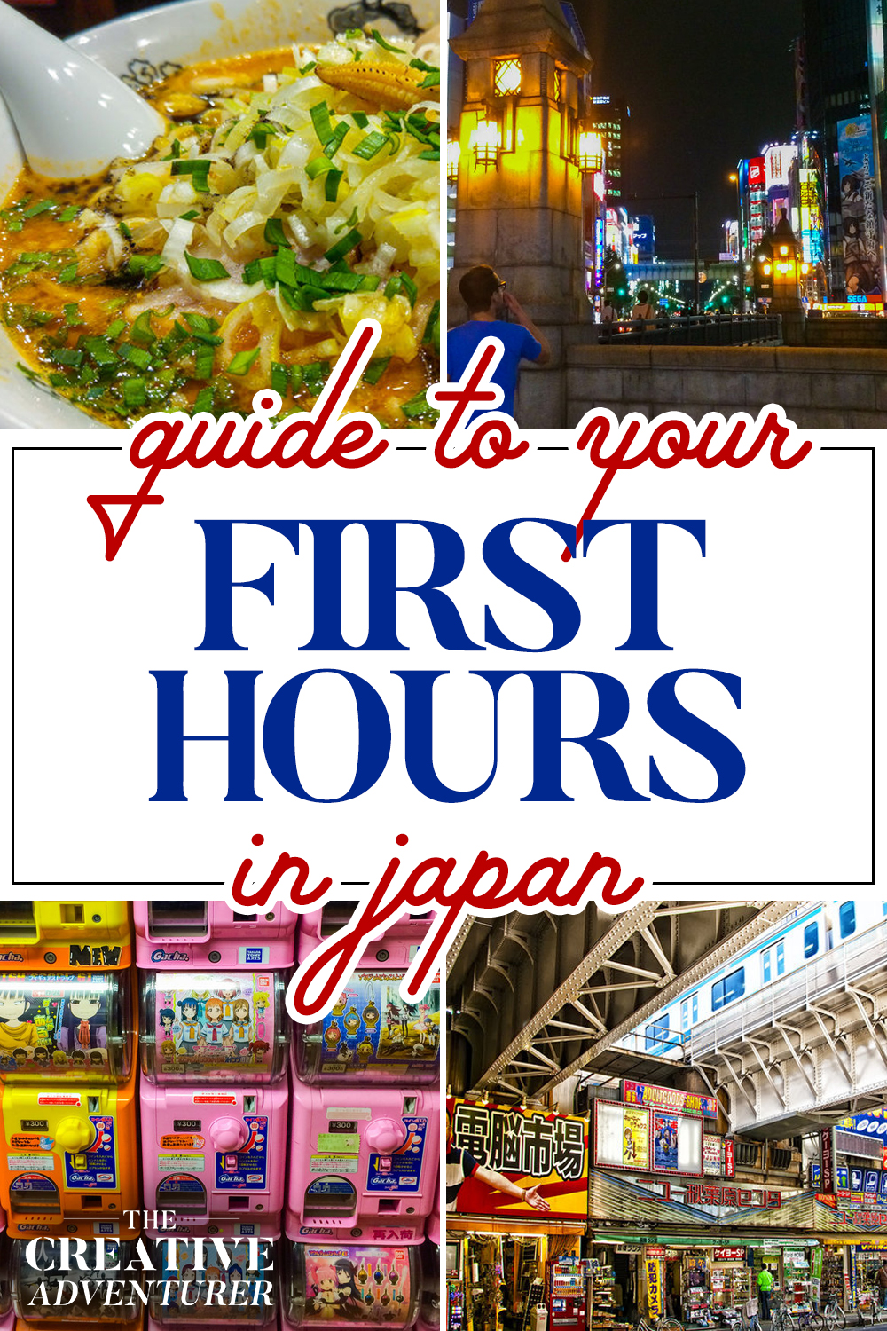 Guide to your first 24 Hours in Japan
