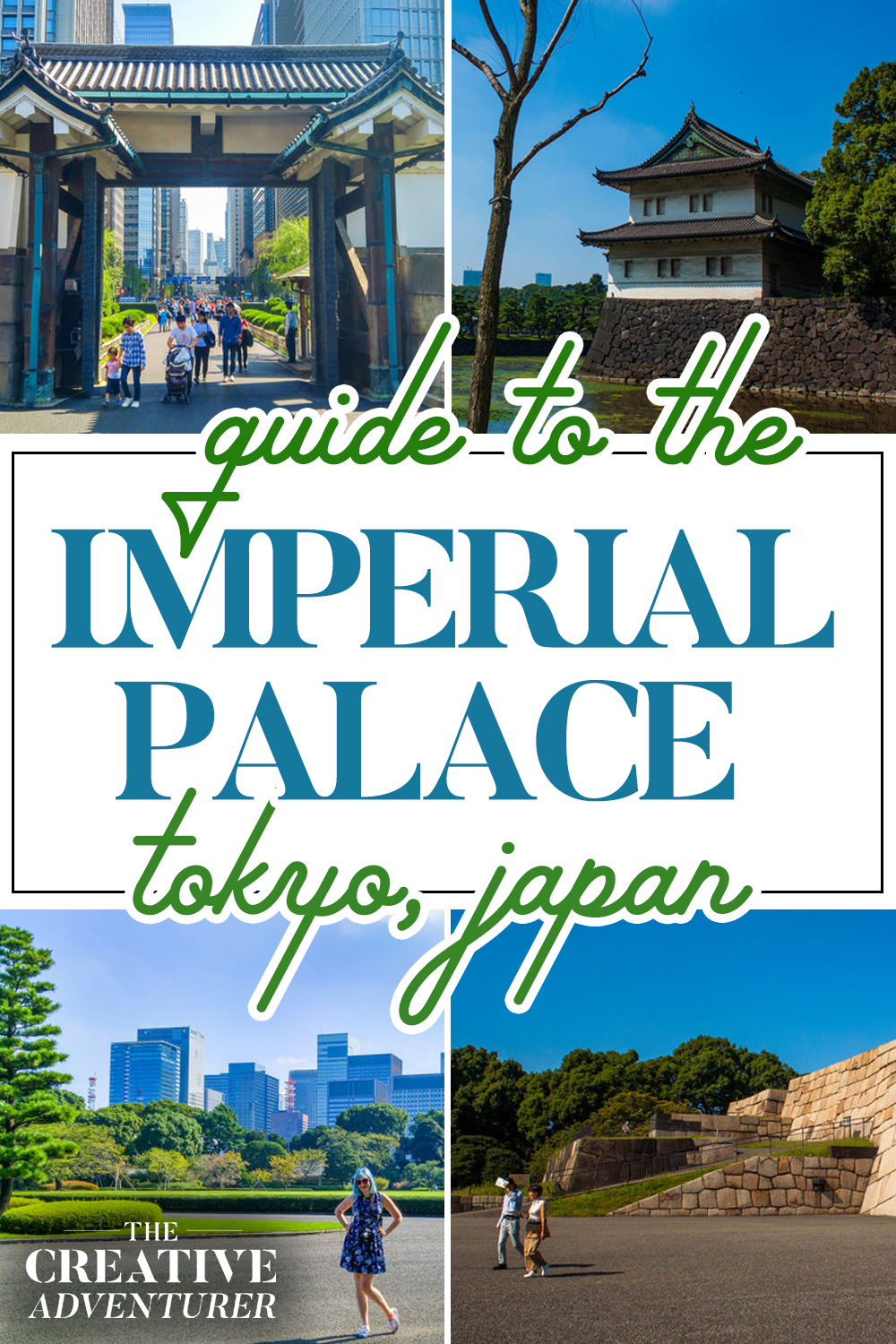 Guide to the Imperial Palace, Tokyo