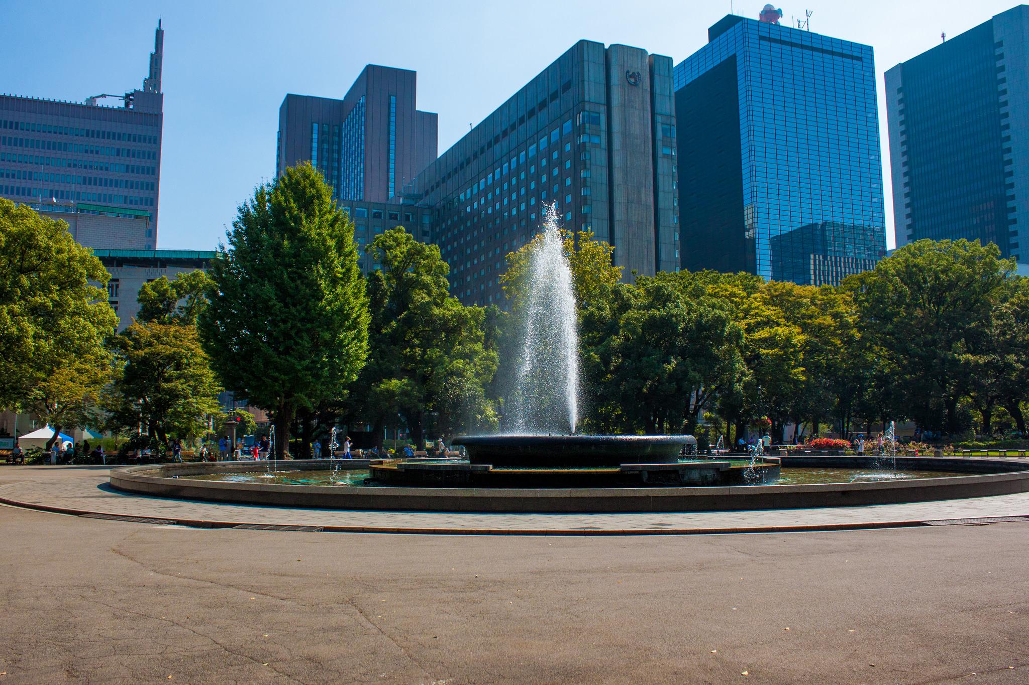 Exploring Hibiya Park, Tokyo