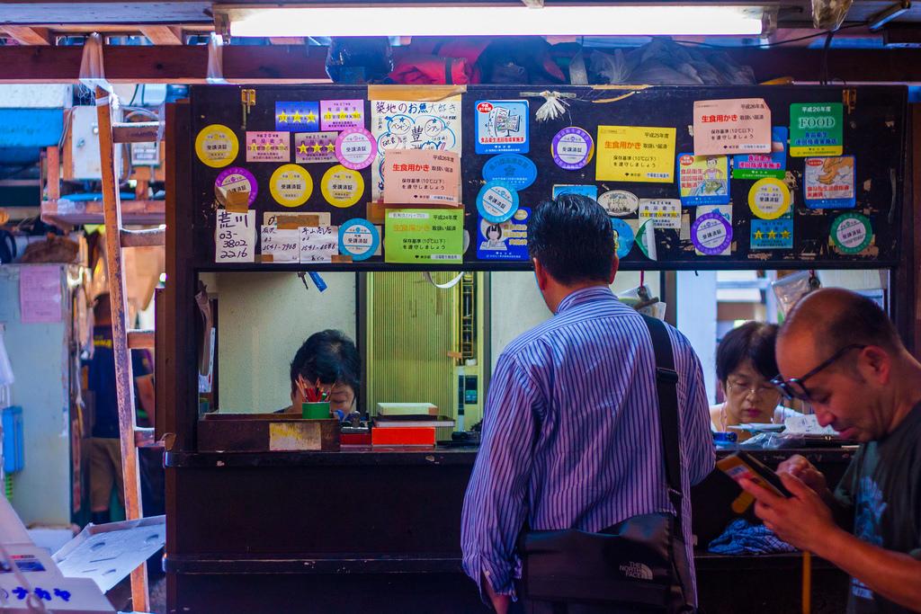 Guide to The Tsukiji Fish Market