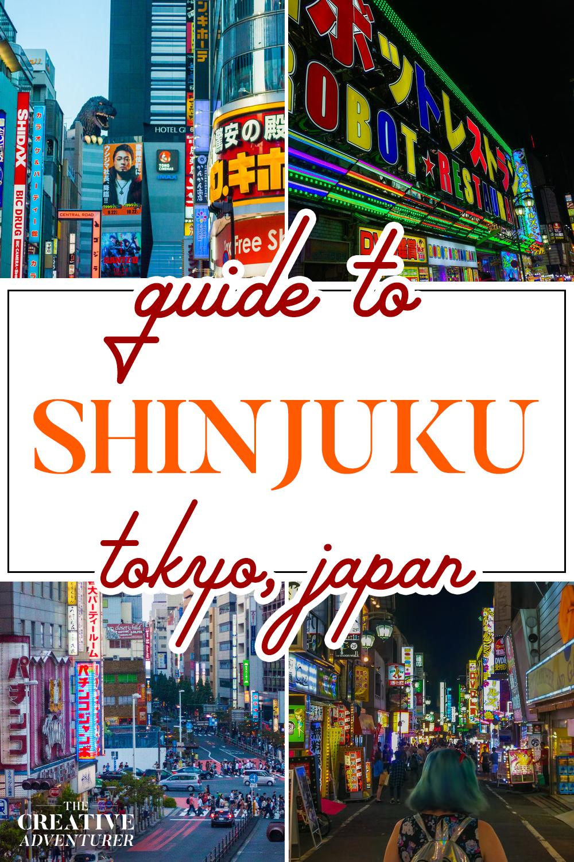Guide to Shinjuku, the Neon City Tokyo