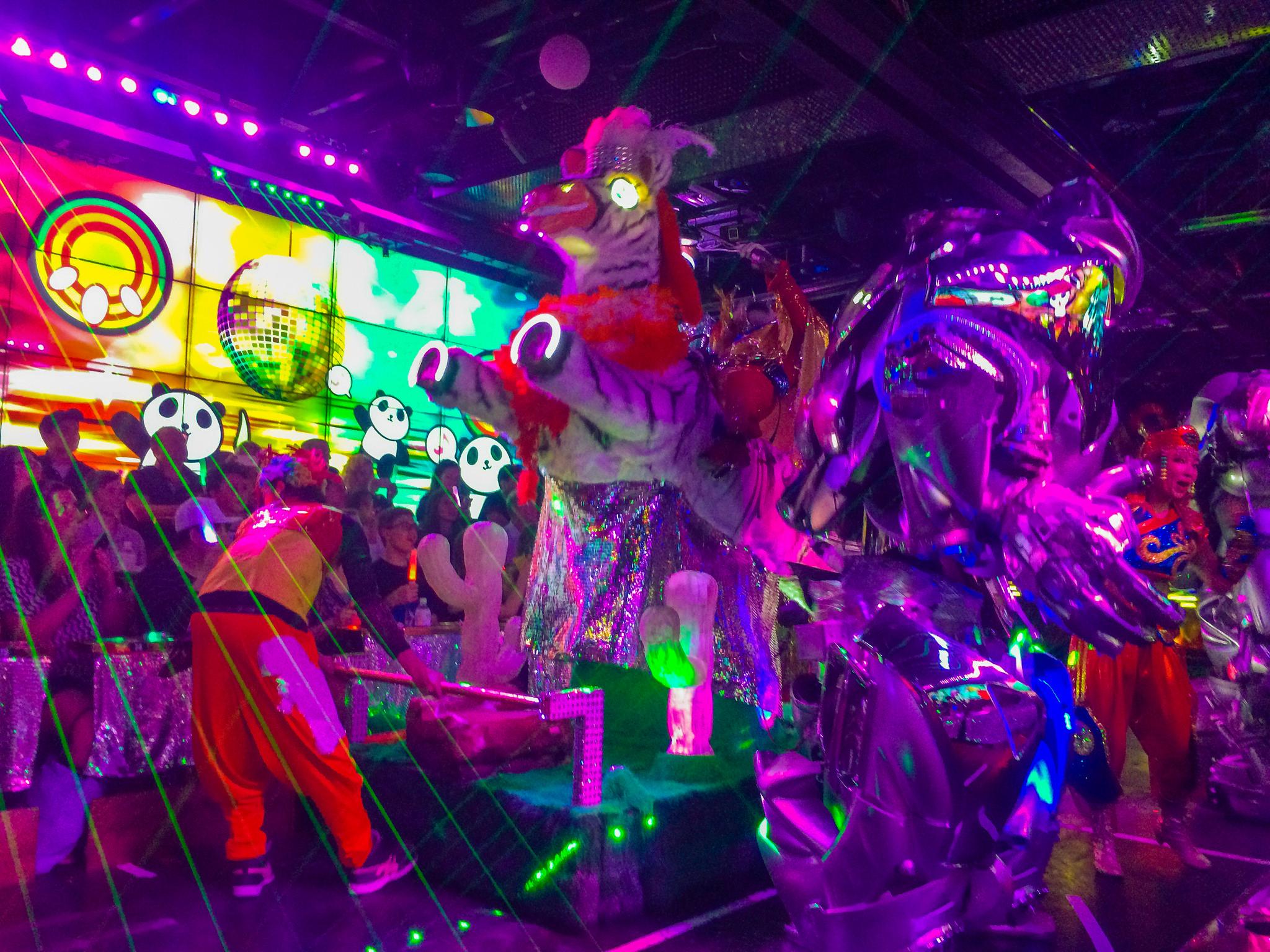 Tokyo Robot Restaurant Experience